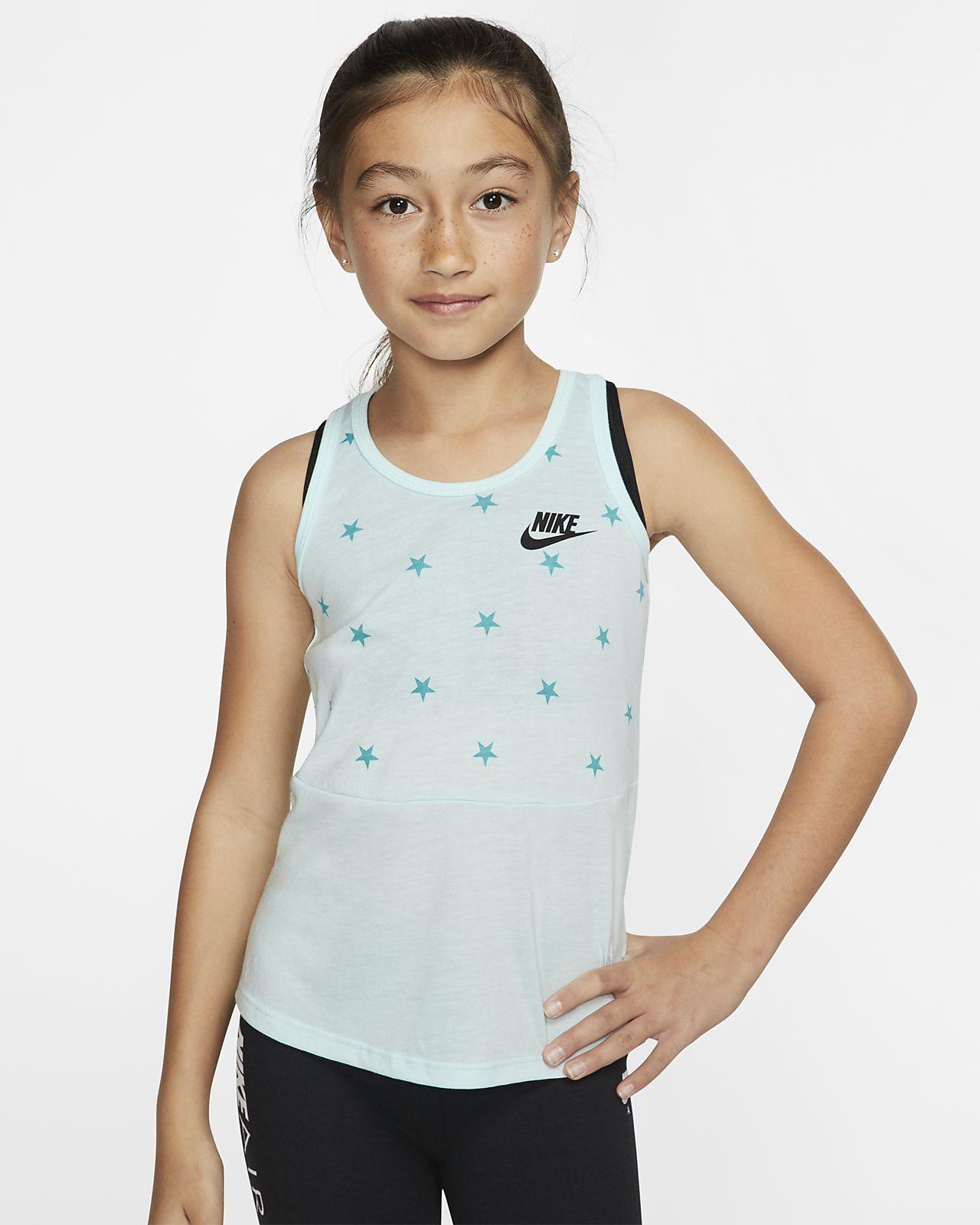 e6c2b2c6a90ab Nike Sportswear Little Kids  Sleeveless Printed Top. Nike.com