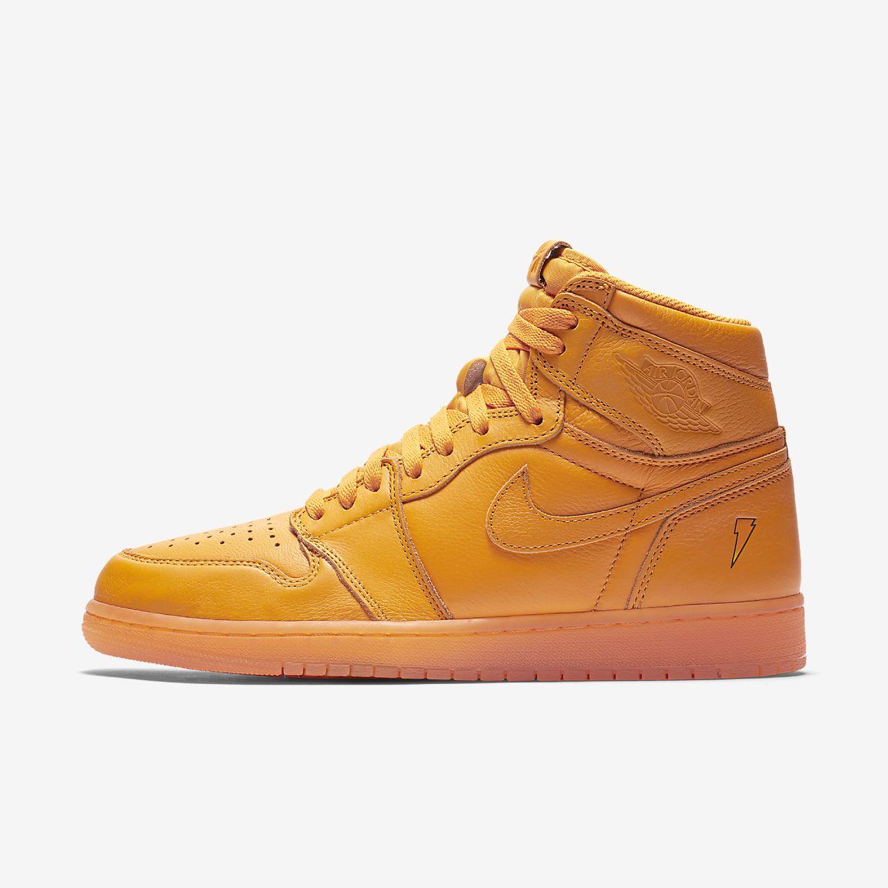 """รองเท้าผู้ชาย Air Jordan 1 Retro High OG """"Orange"""""""