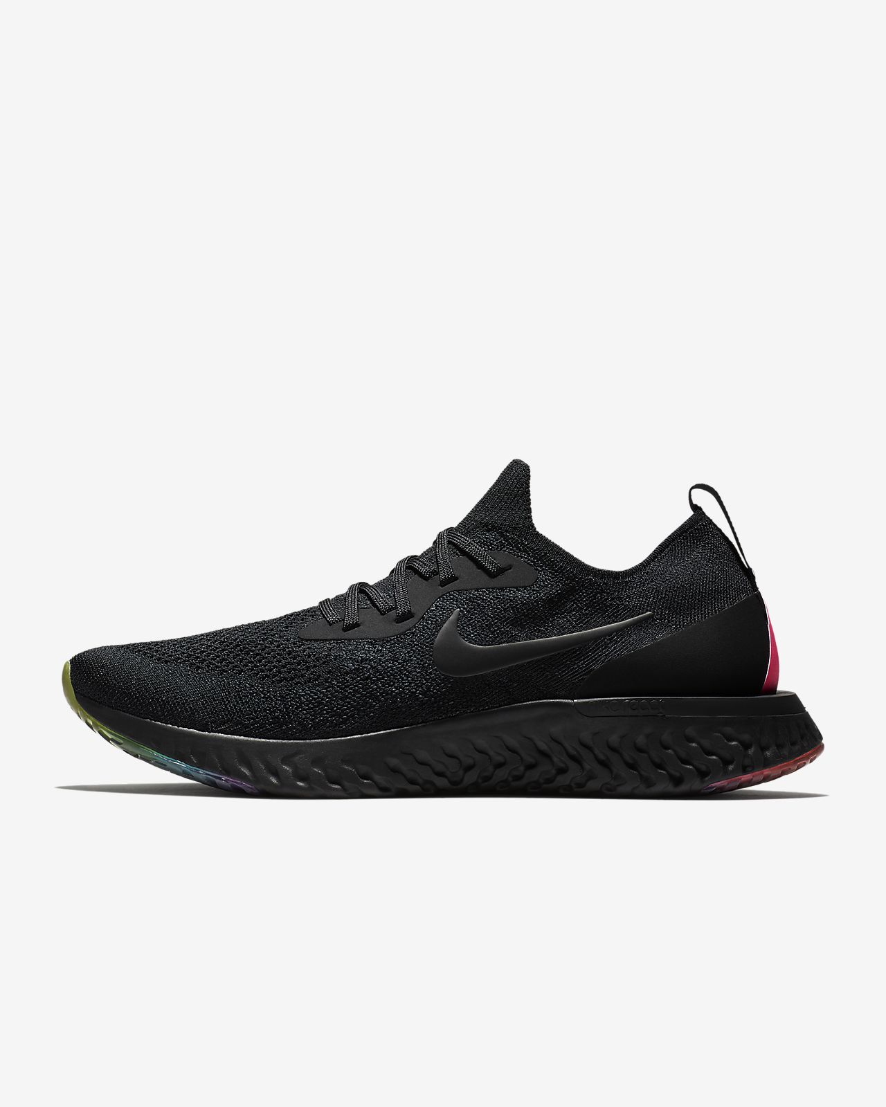 Nike Epic React Flyknit BETRUE Men s Running Shoe. Nike.com 52a3dba7102