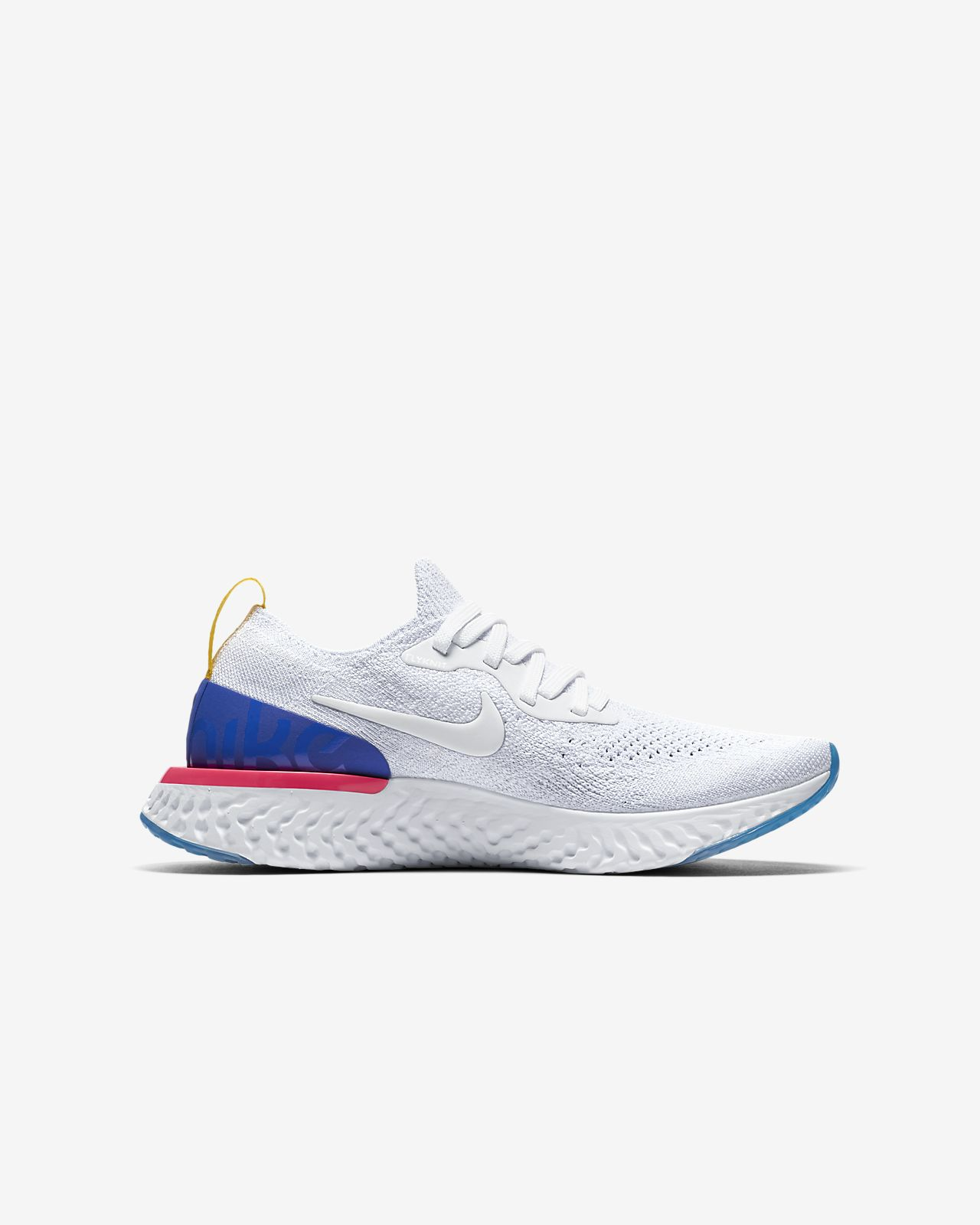 ... Nike Epic React Flyknit Older Kids' Running Shoe