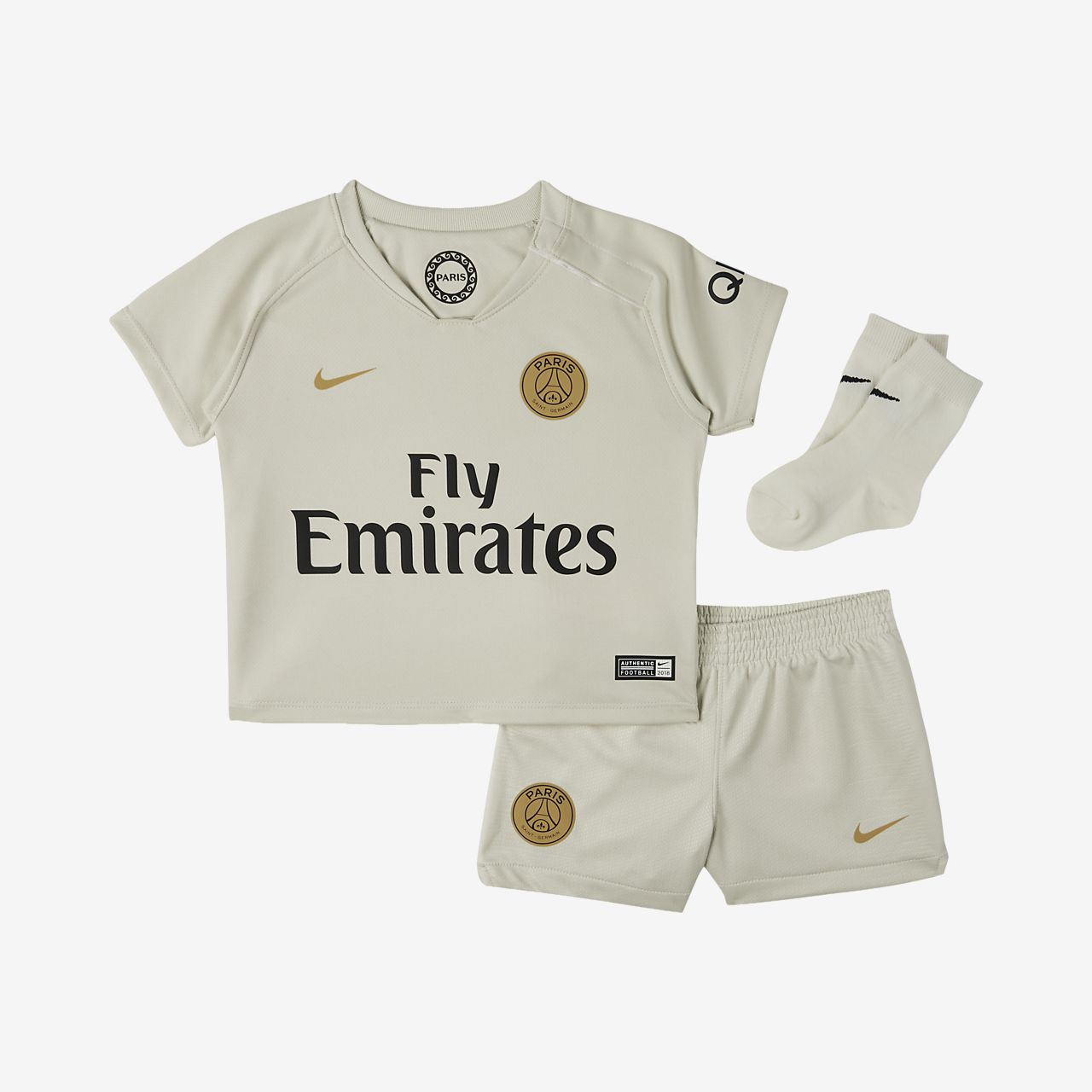 2018/19 Paris Saint-Germain Stadium Away Fußballtrikot-Set für Kleinkinder