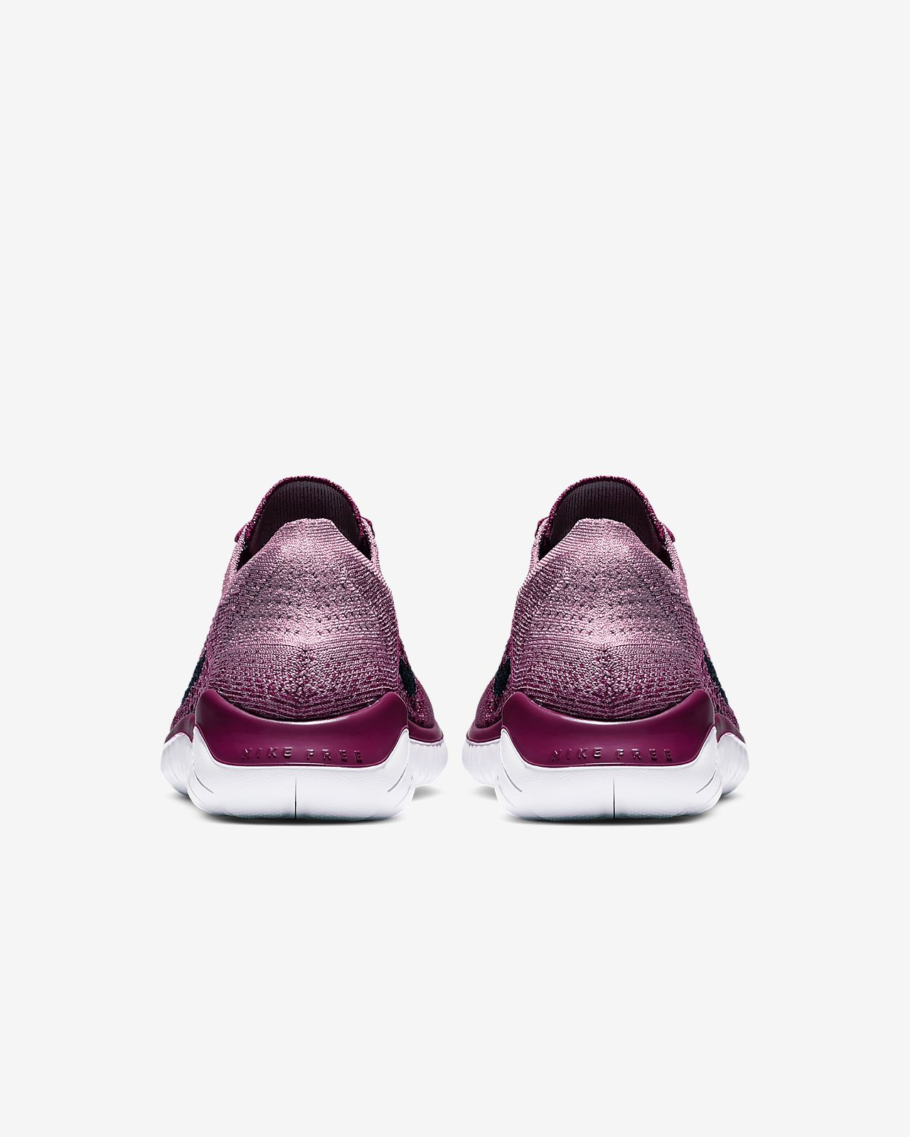 Nike Nike Free RN Flyknit 2018 iD Women's Running Shoe Size 6.5 (White) from NIKE | more
