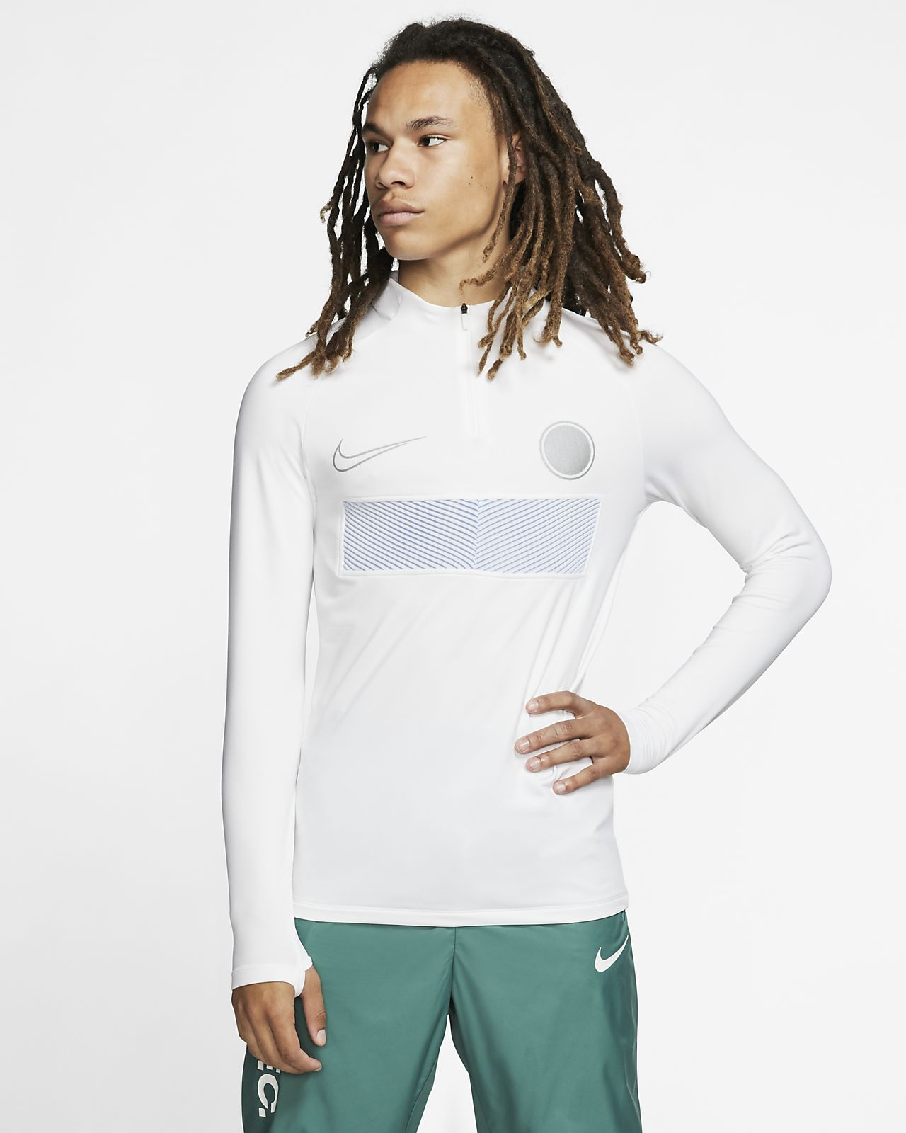 Nike AeroAdapt Strike fotballtreningsoverdel til herre