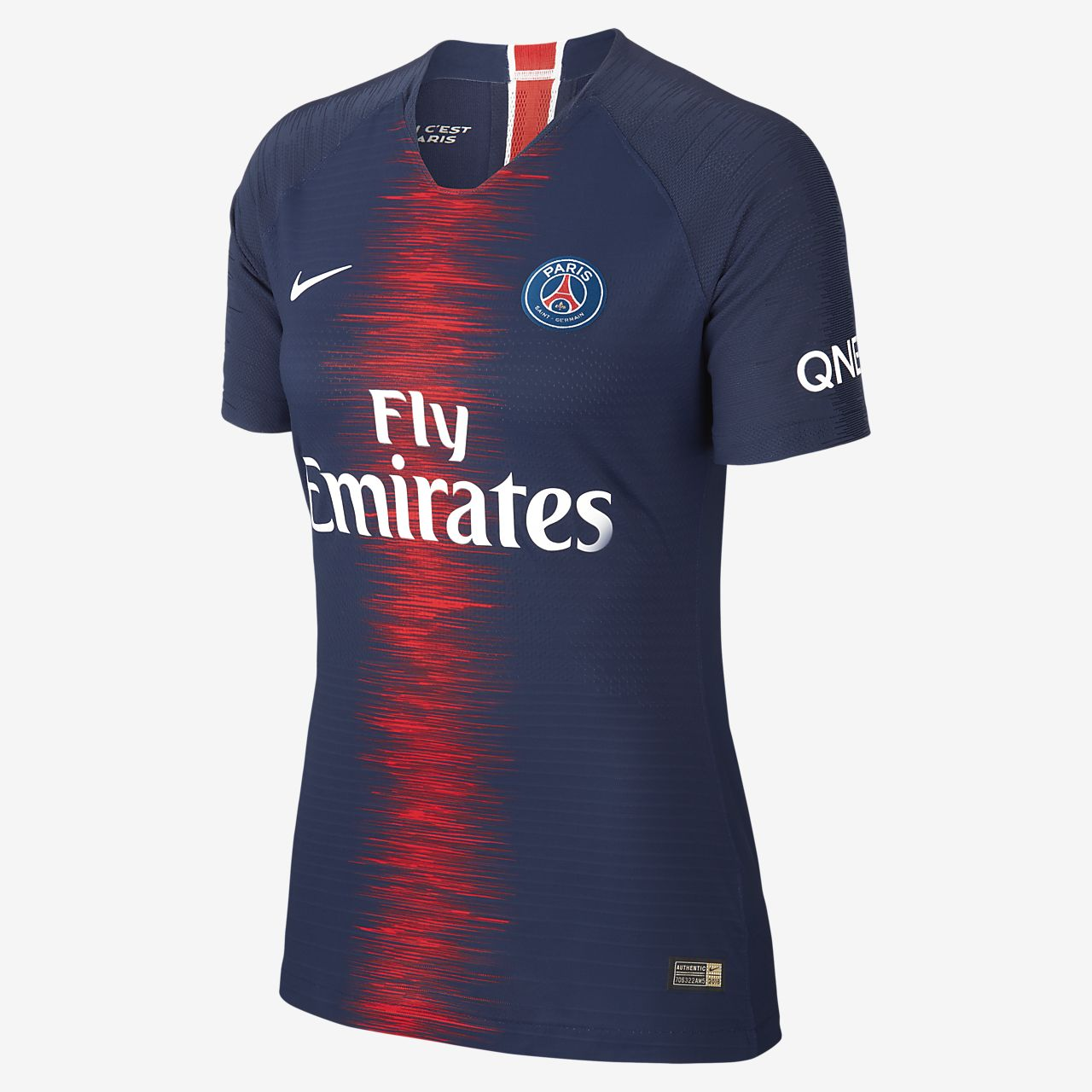 dc75200fa746a ... Camiseta de fútbol para mujer de local Vapor Match del Paris Saint- Germain 2018