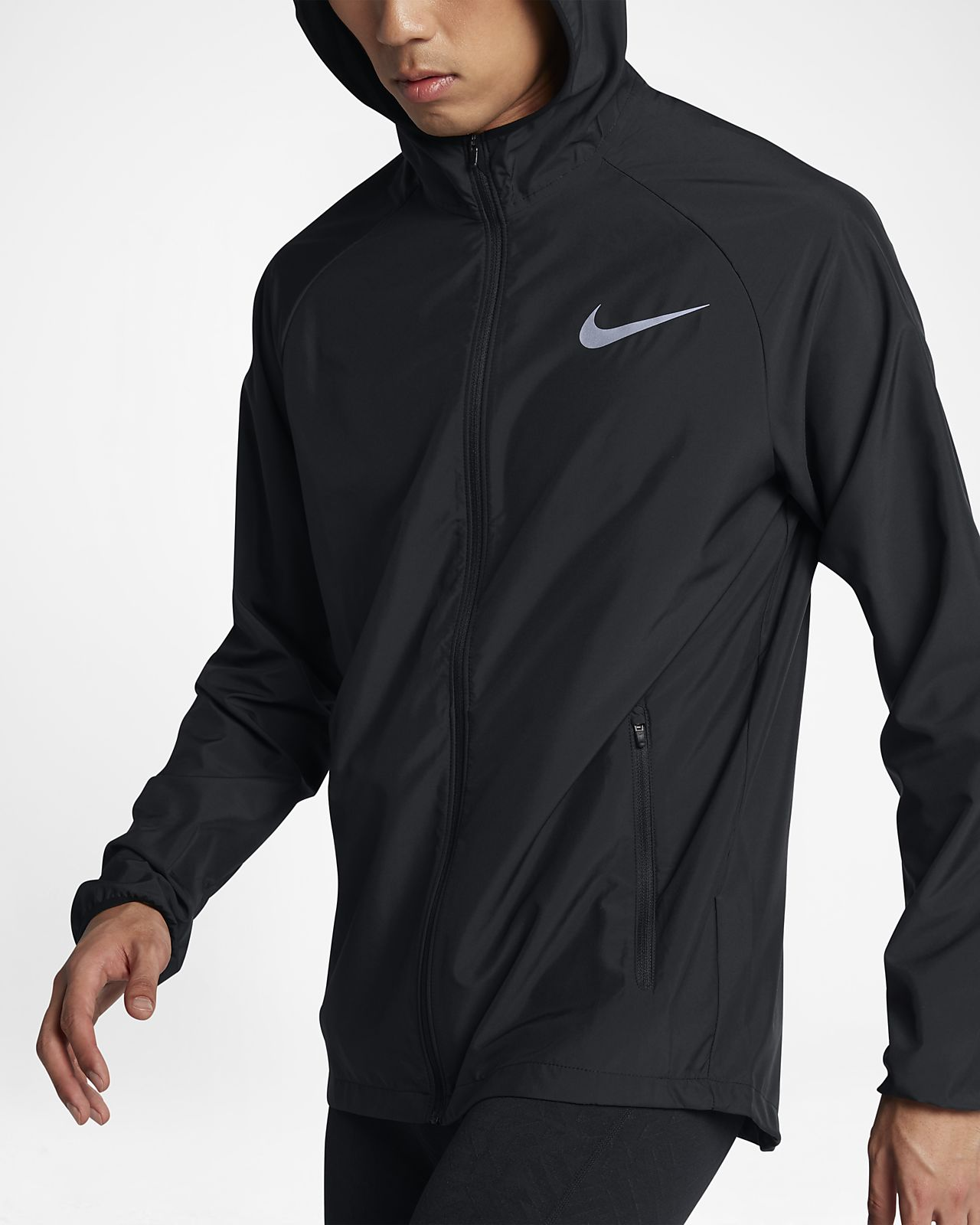 more photos 9e16b f466a Nike Essential Men s Running Jacket. Nike.com CA