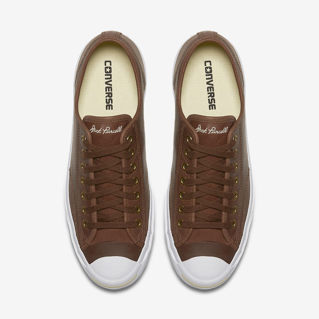 Converse Jack Purcell Boot Leather Low Top Sneakers