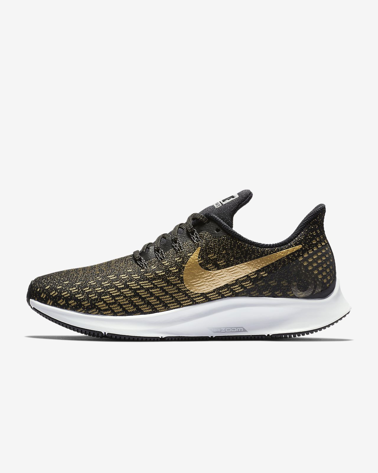 new concept 11409 ccc2a Nike Air Zoom Pegasus 35 Metallic Women's Running Shoe. Nike.com