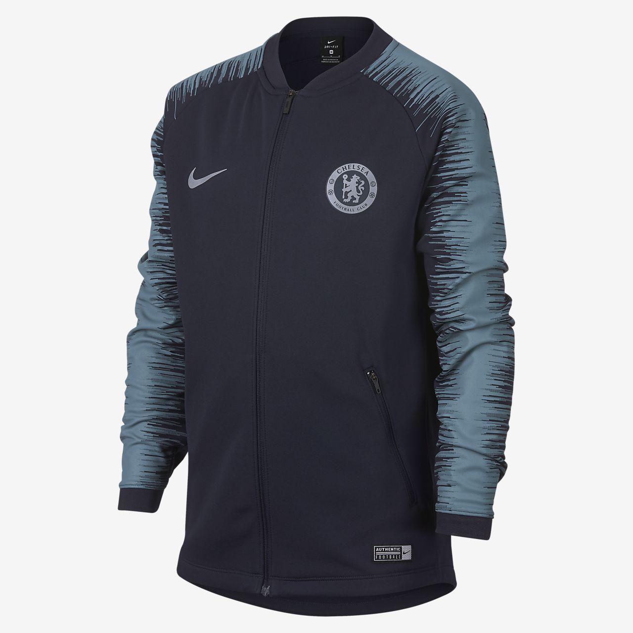 Chelsea FC Anthem Genç Çocuk Futbol Ceketi