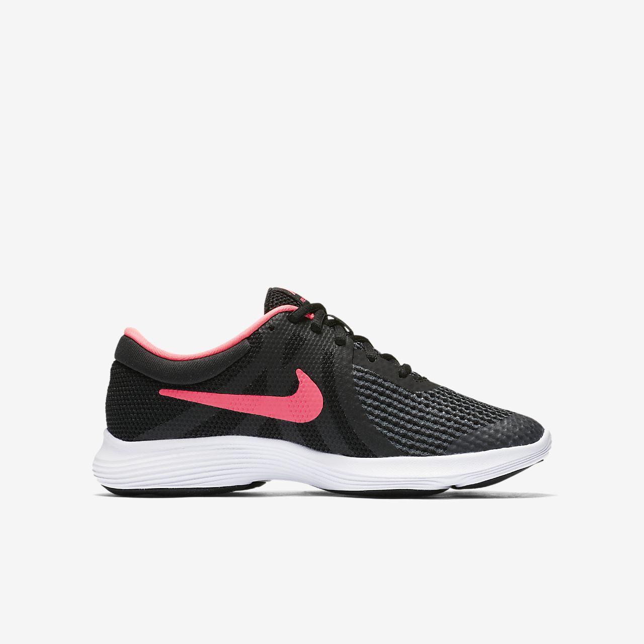 Nike Revolution 4 Big Laufschuh für ältere Kinder - Schwarz ne91Sgk