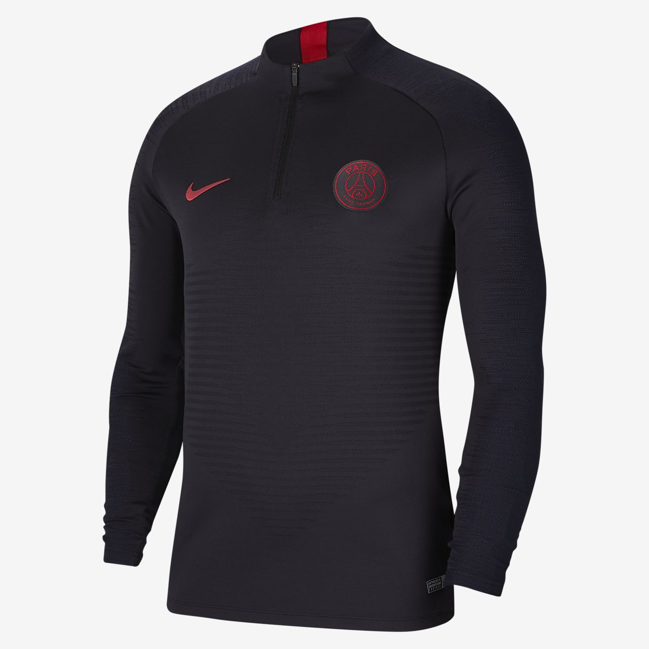 66f87ba9c ... Męska treningowa koszulka piłkarska Nike VaporKnit Paris Saint-Germain  Strike