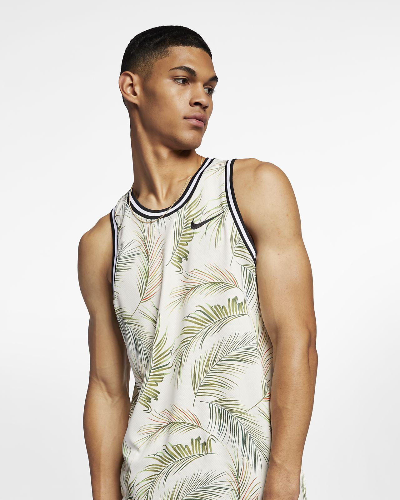 Maillot de basketball imprimé Nike Dri-FIT DNA pour Homme