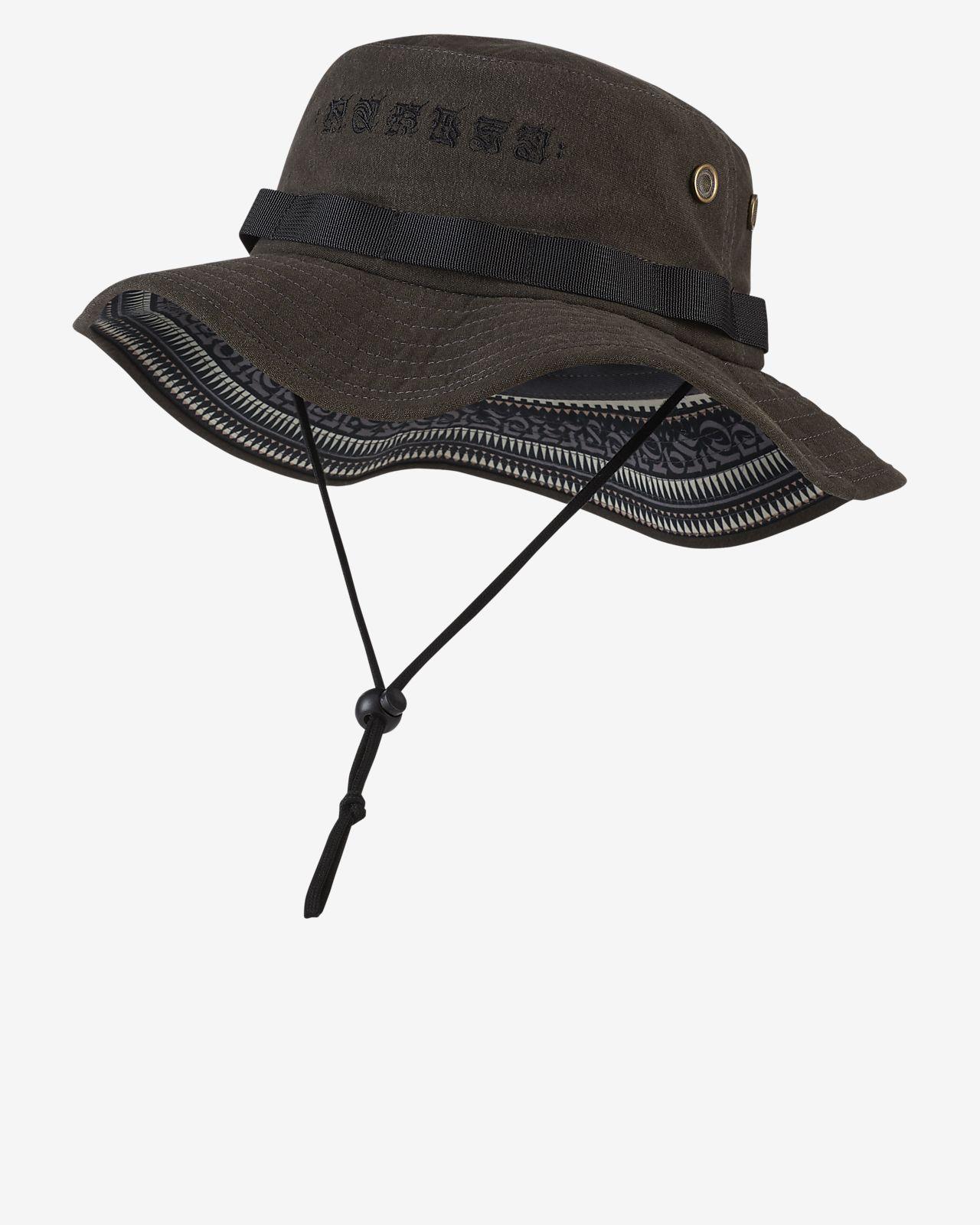 Hurley Cryptik Mana Sombrero tipo pescador - Hombre. Nike.com ES bd78c7a497c