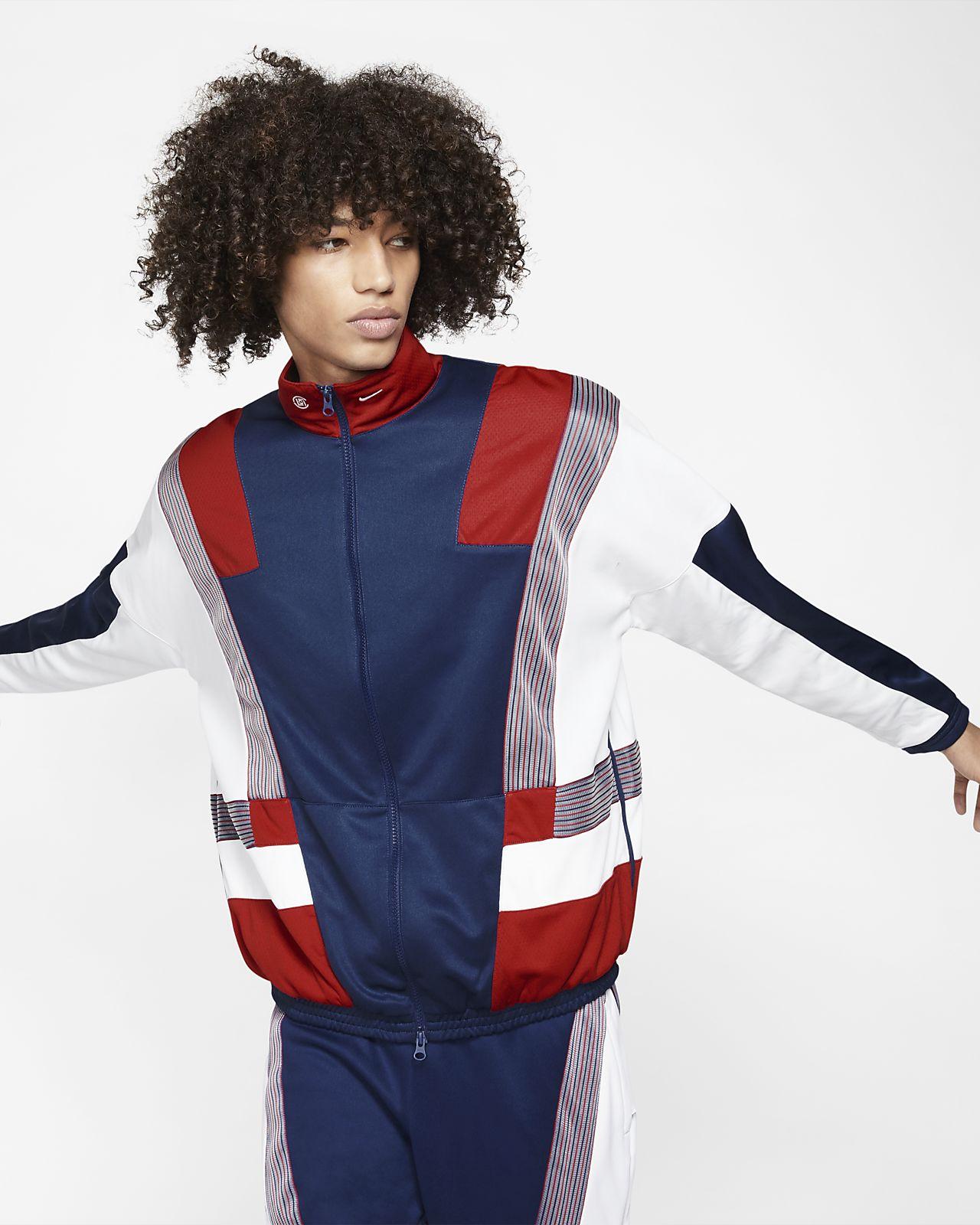 Nike x CLOT-vævet tracksuit til mænd