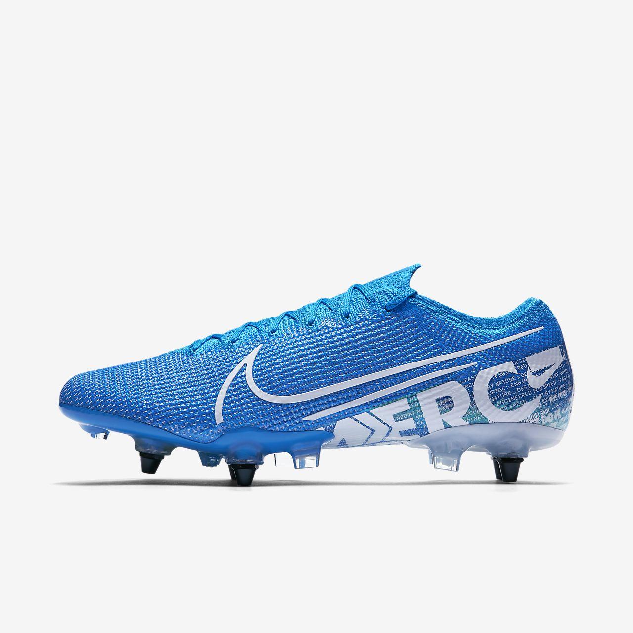 Nike Mercurial Vapor 13 Elite SG-PRO Anti-clog-fodboldstøvle til vådt græs