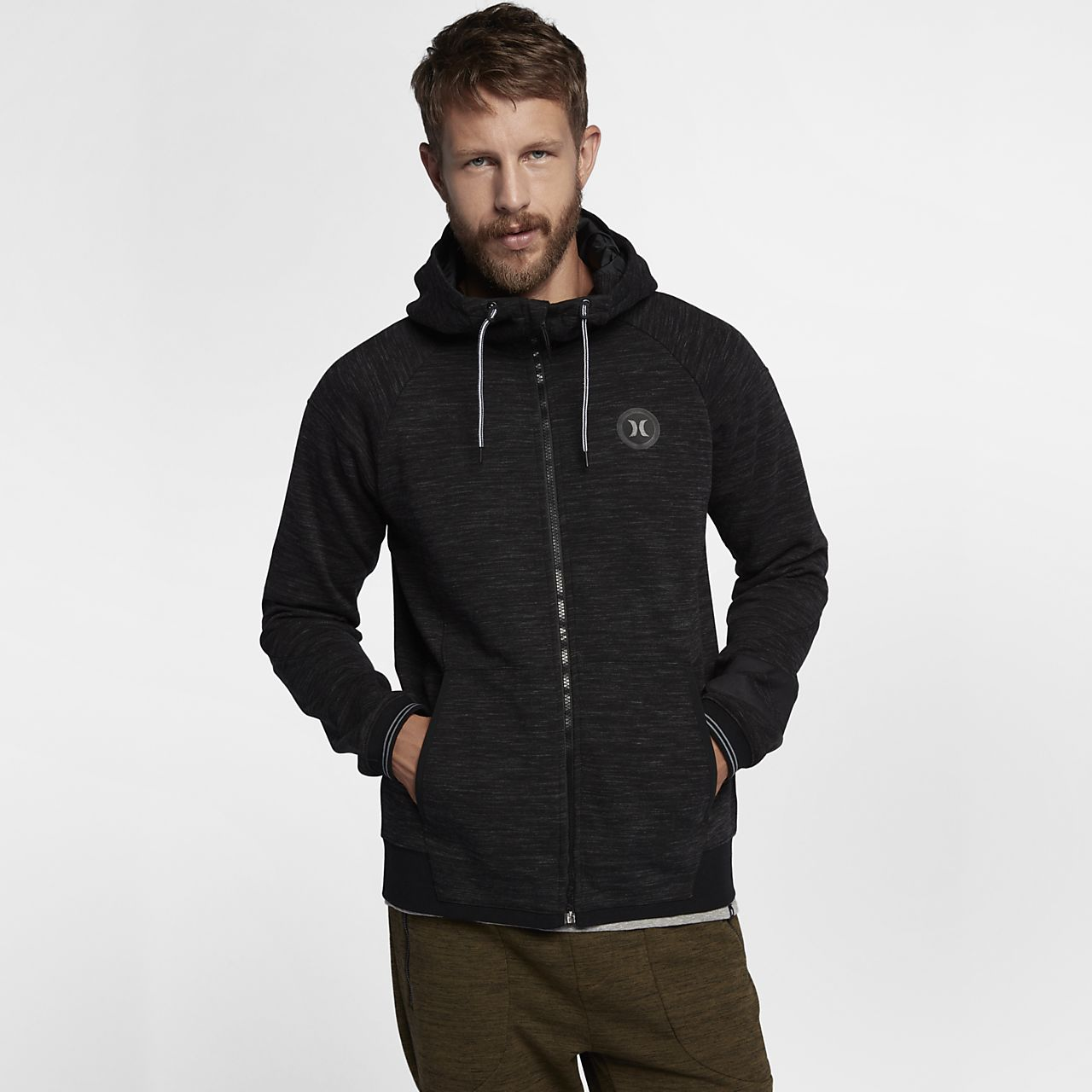 9645fa5afbd Hurley Phantom Motion Zip Up Men s Fleece Hoodie. Nike.com BG