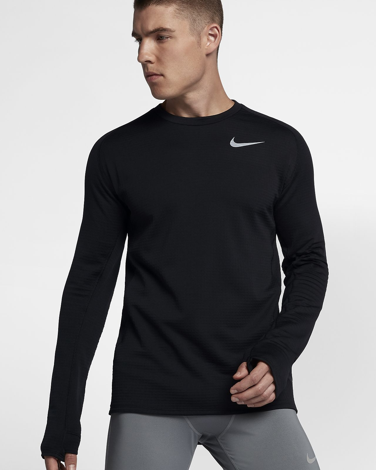 premium selection 167e8 4d2ea ... Nike Therma-Sphere Element Men s Long-Sleeve Running Top