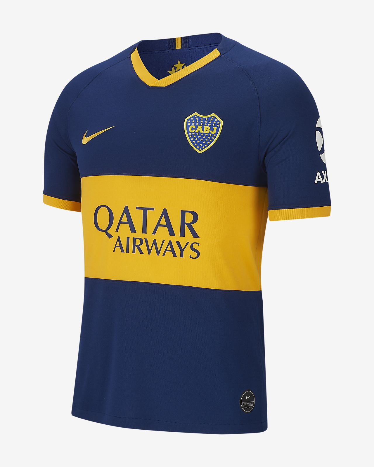Boca Juniors 201920 Stadium Home Camiseta de fútbol Hombre