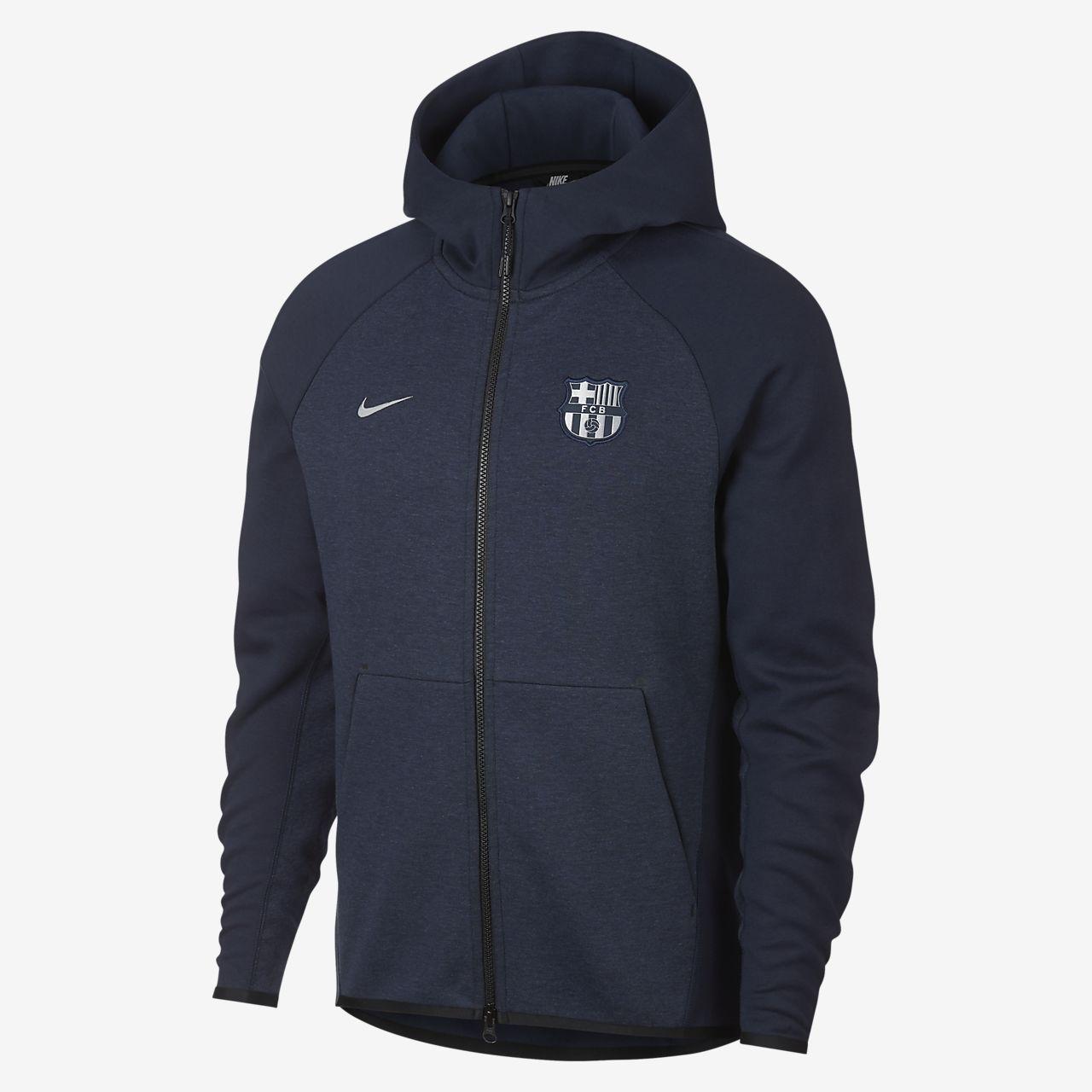FC Barcelona Tech Fleece Sudadera con capucha - Hombre. Nike.com ES 733945ee444
