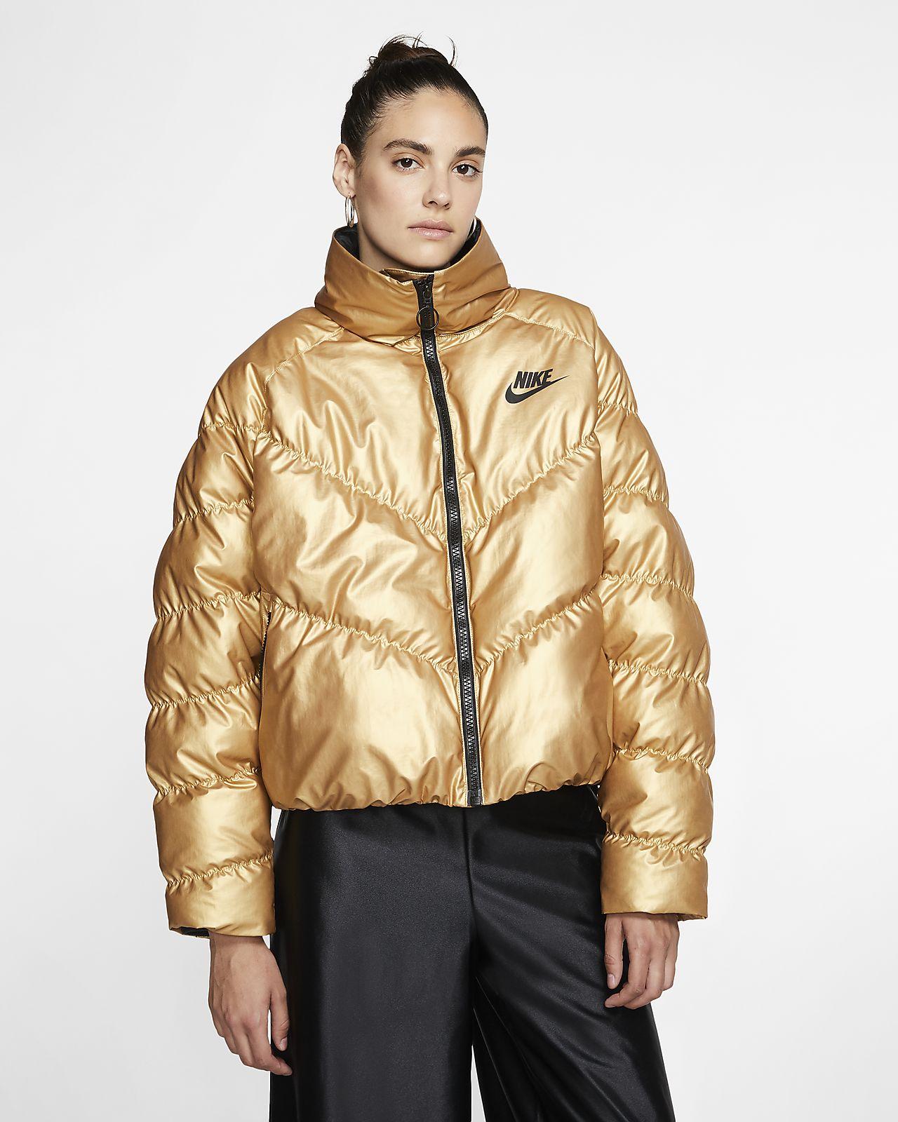 Damska, błyszcząca kurtka Nike Sportswear Synthetic-Fill