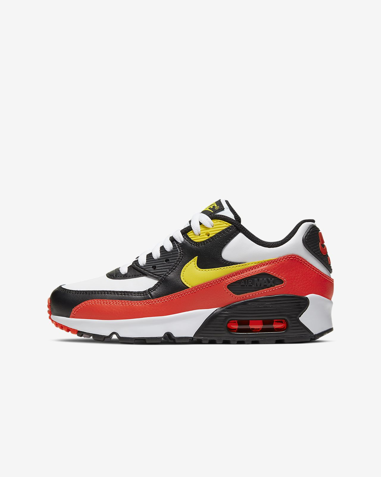 Nike Air Max 90 Leather (Big Kids)