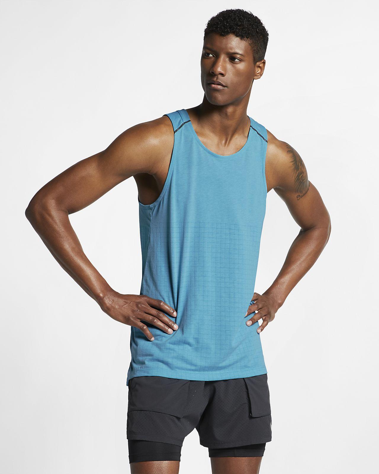 Nike Rise 365 Tech Pack Lauf-Tanktop für Herren