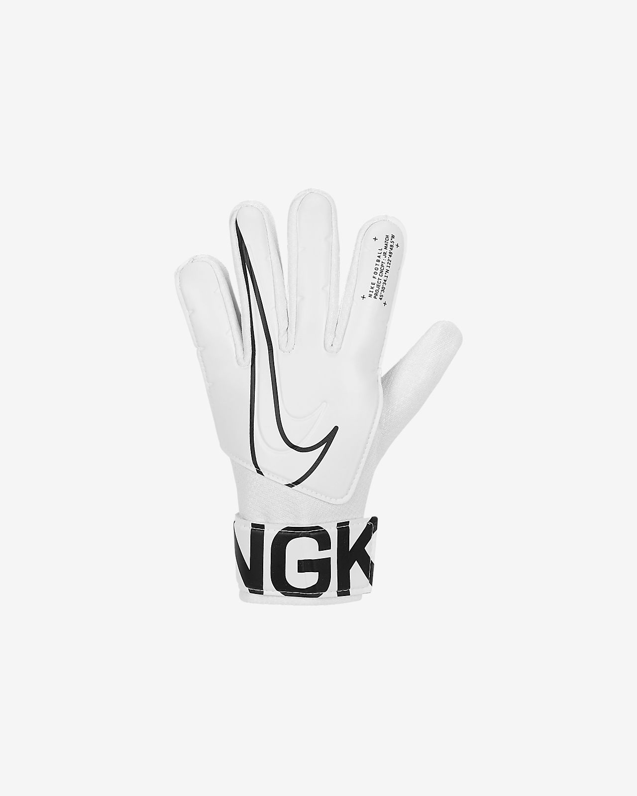 Dziecięce rękawice piłkarskie Nike Jr. Match Goalkeeper