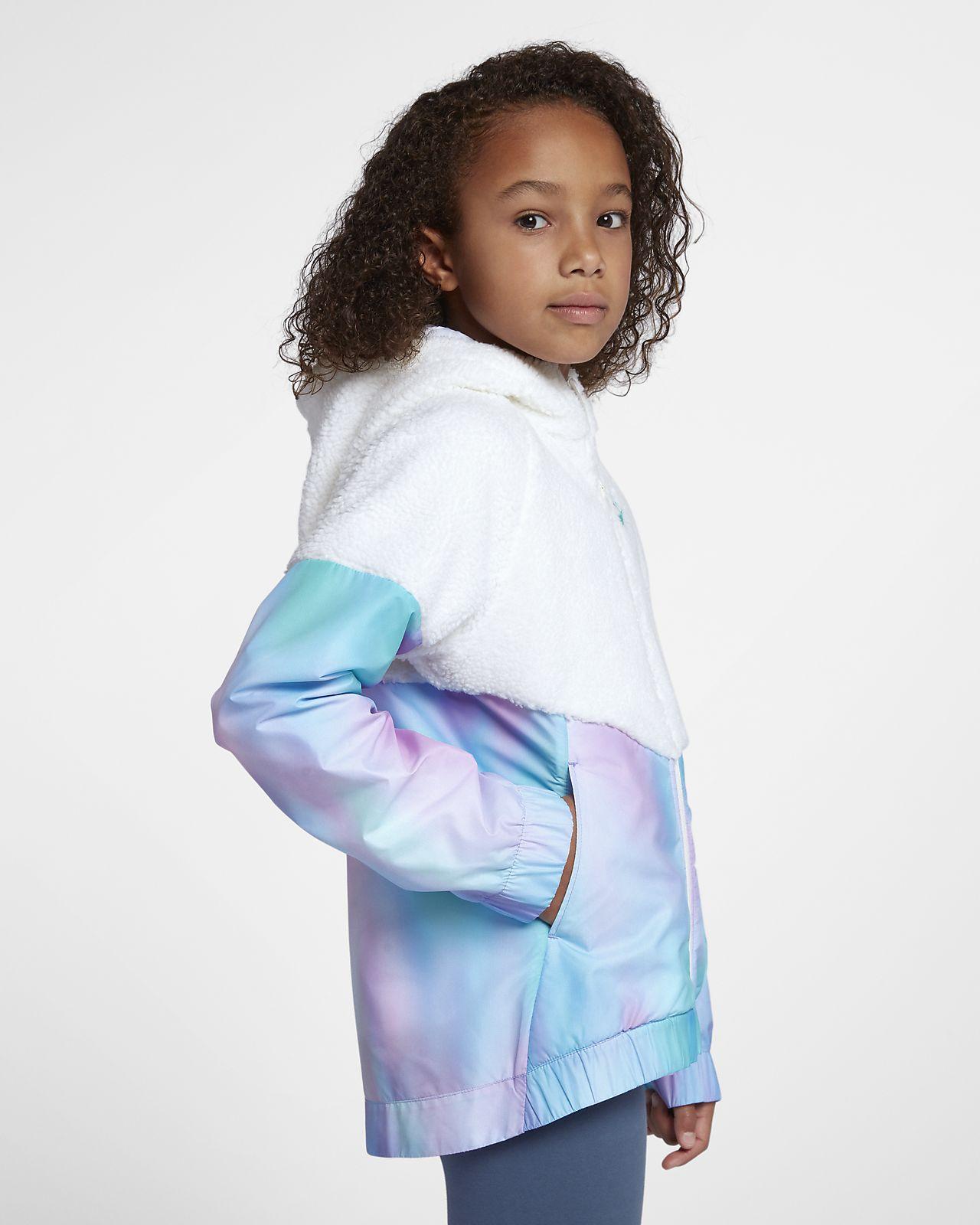 cdb3d4ce86cb Nike Sportswear Windrunner Big Kids  (Girls ) Jacket. Nike.com