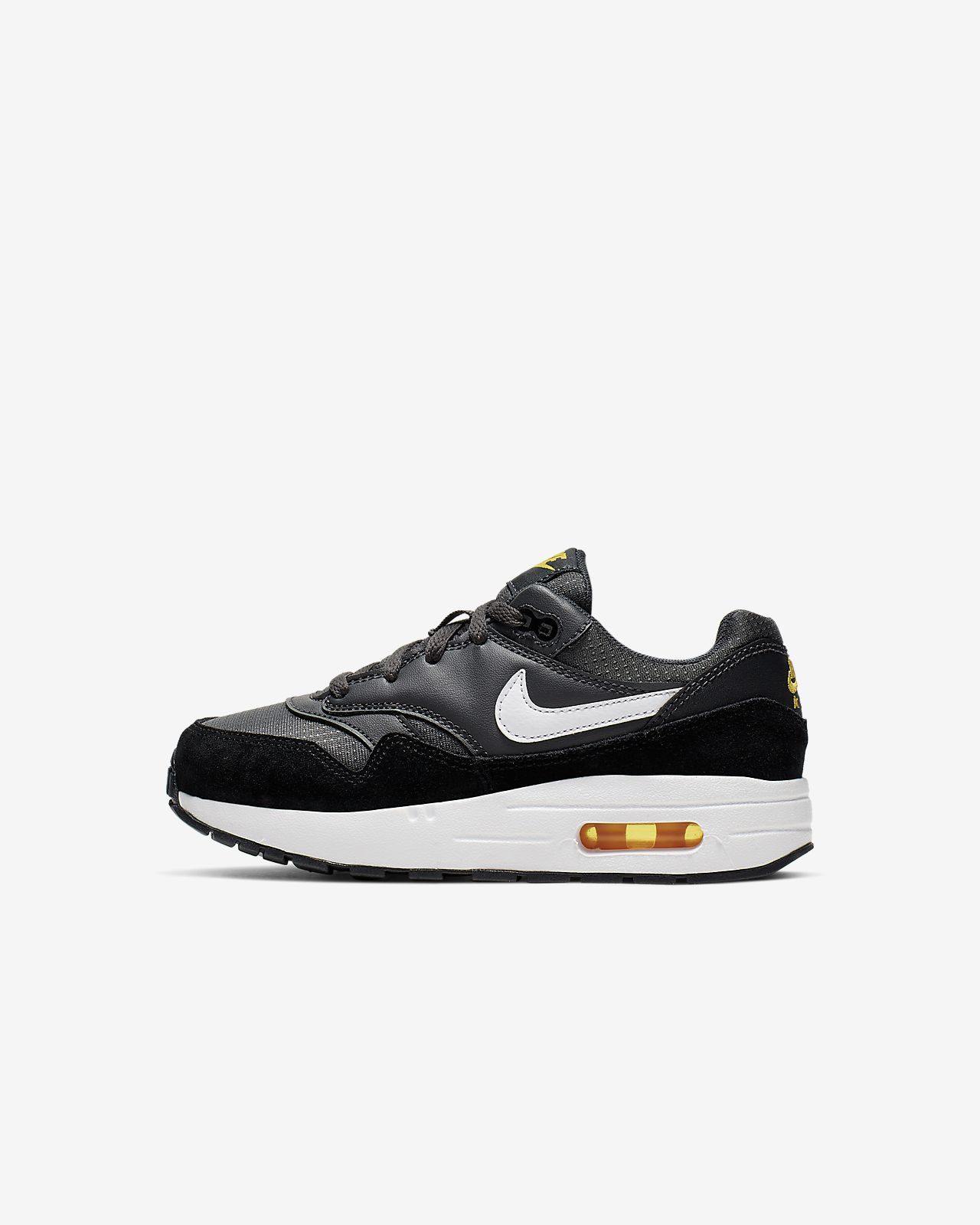 Air Max 1 Premium Embroidered Big Kids' Shoe in 2019 | Ethan