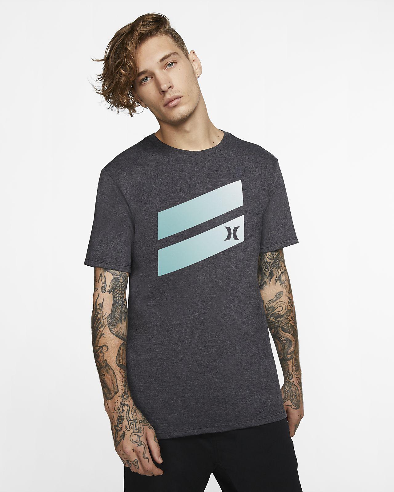 T-shirt Hurley Premium Icon Slash Gradient para homem