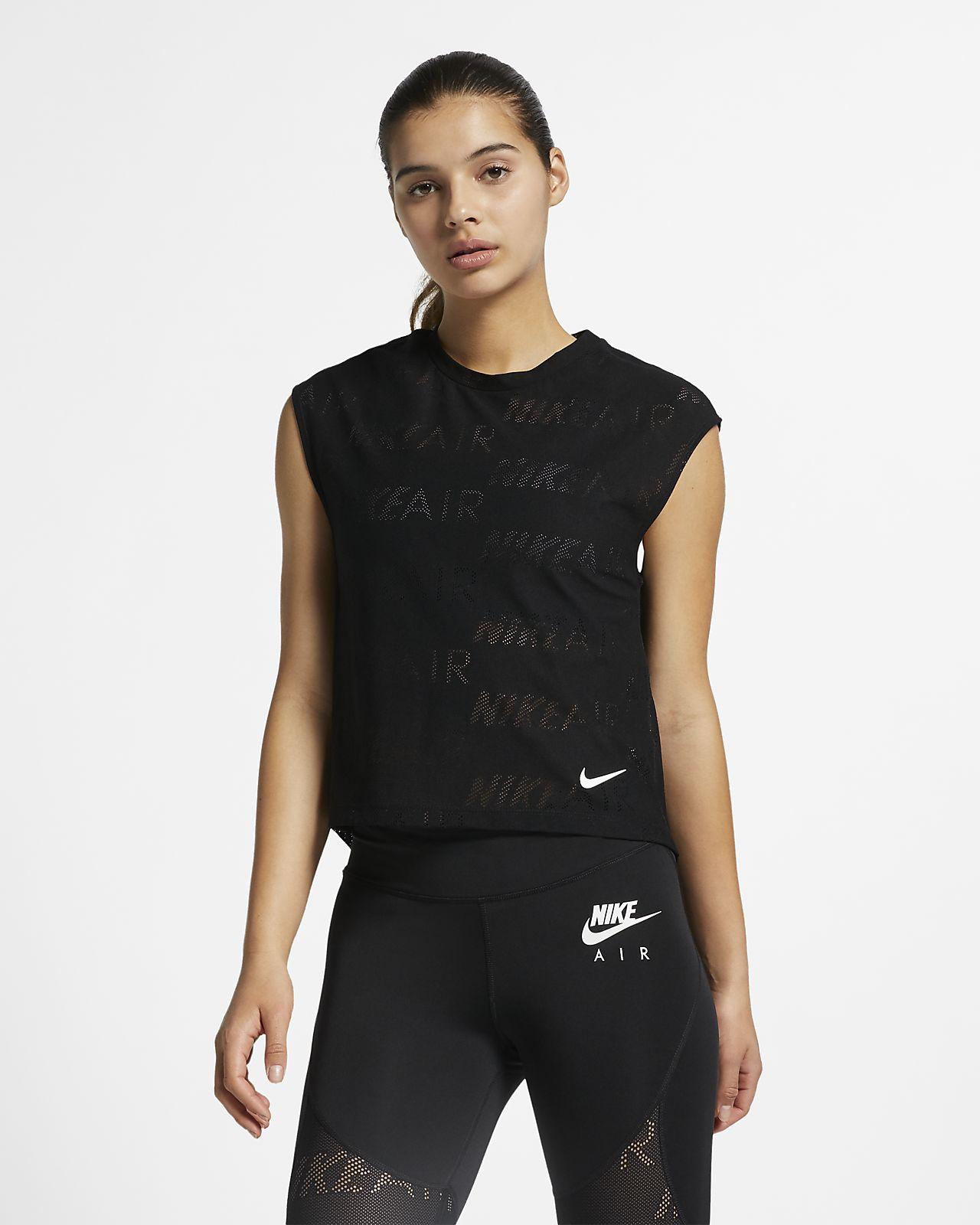 Nike Air 女款短袖跑步上衣