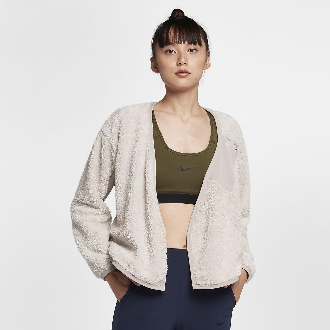 Haut de training modulable à manches longues Nike pour Femme