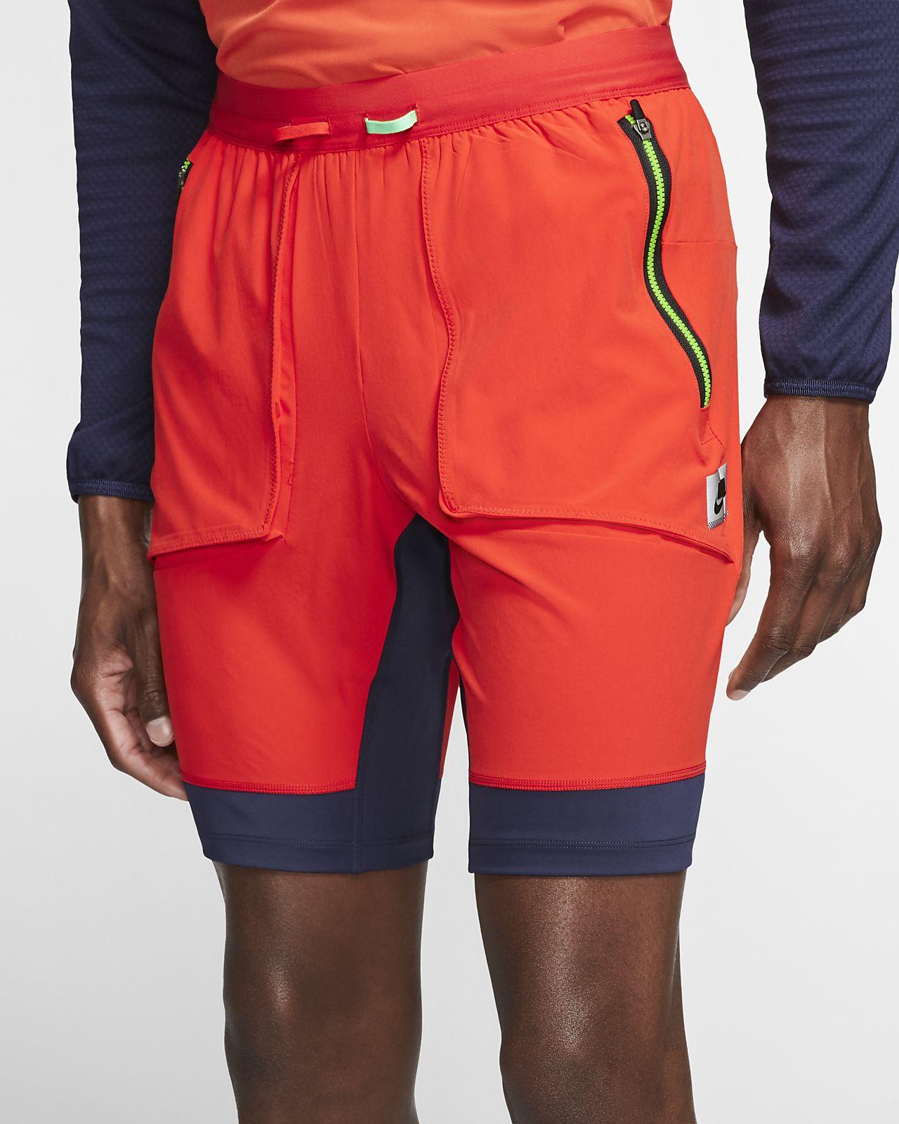 Nike Wild Run hybrid-løpeshorts til herre