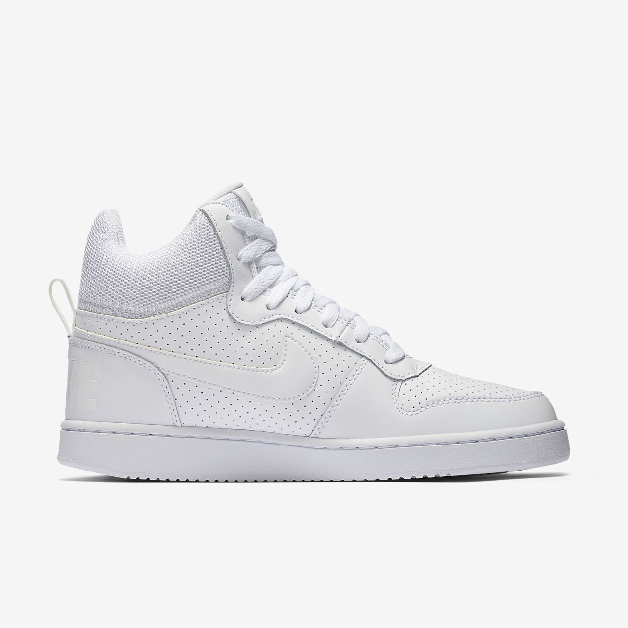 Zapatilla WMNS Court Borough Mid Blanca Nike QxydMIno