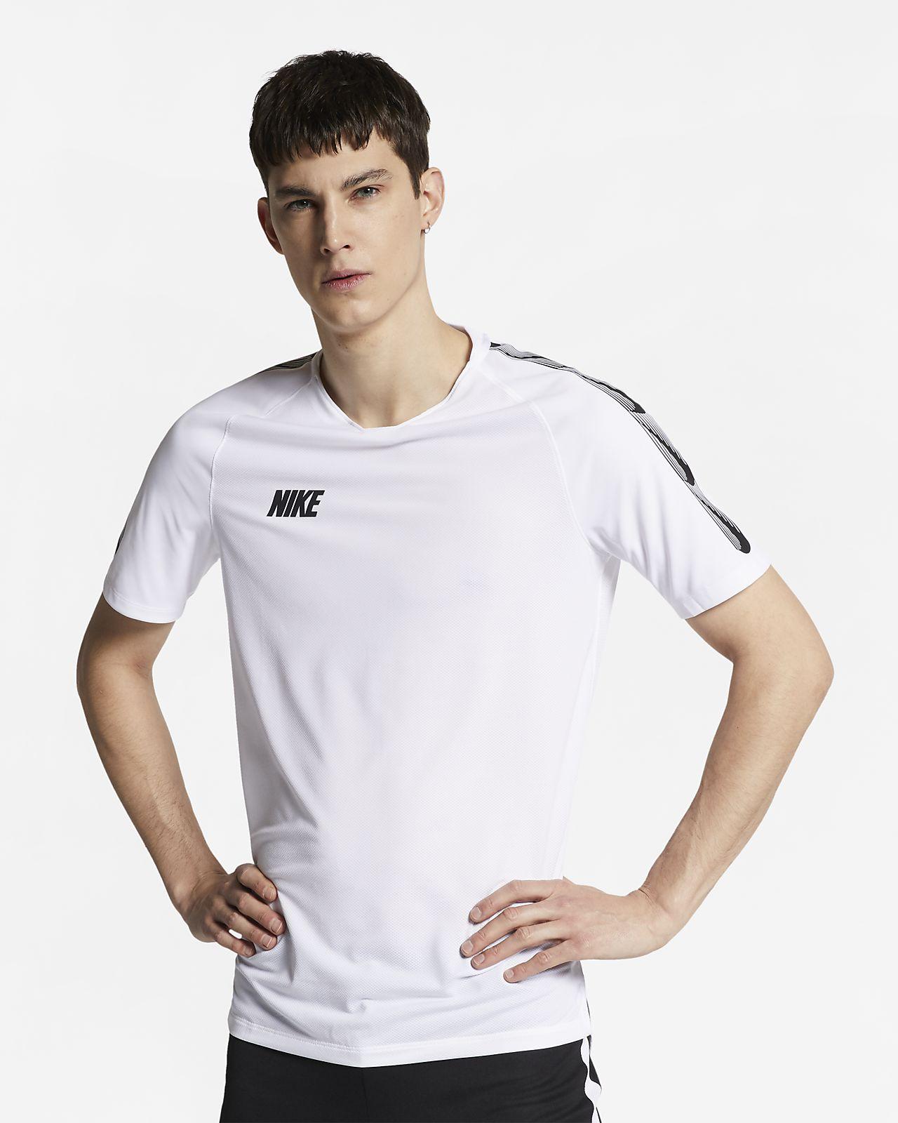 Nike Breathe Squad-kortærmet fodboldtrøje til mænd