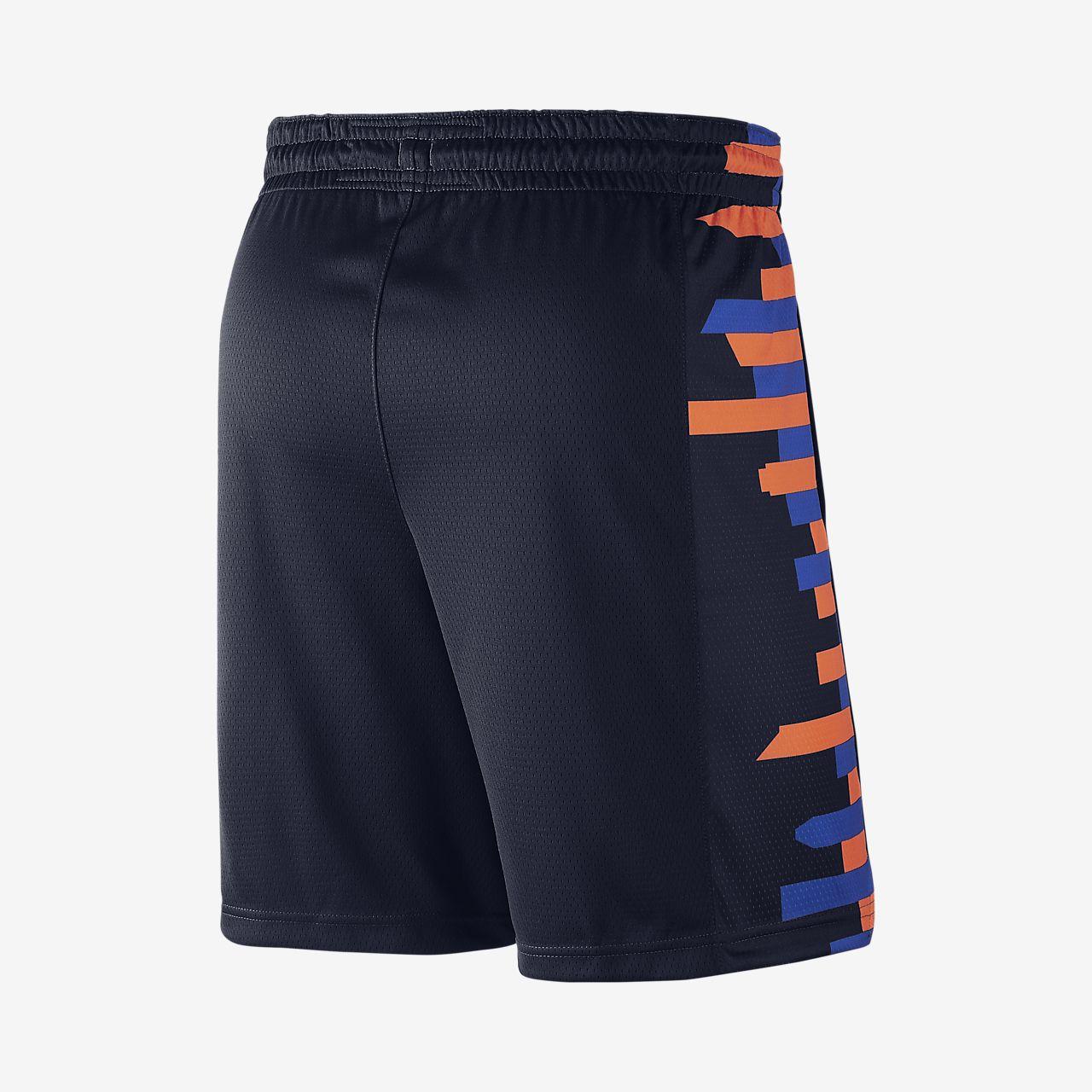 new products 53370 2a6cc ... New York Knicks City Edition Swingman Men s Nike NBA Shorts