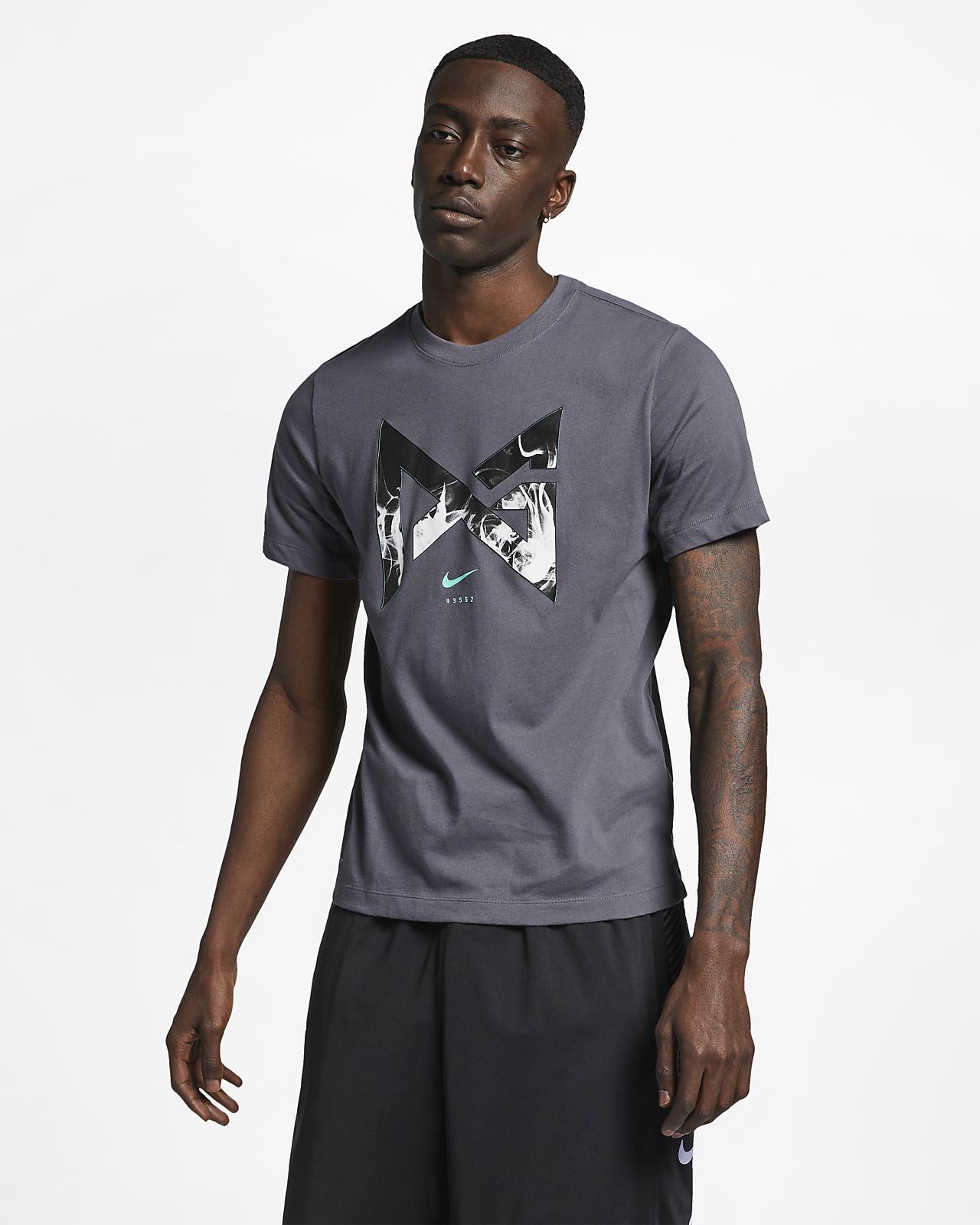 720bb08c4836a6 Nike Dri-FIT PG Men s Basketball T-Shirt. Nike.com ID
