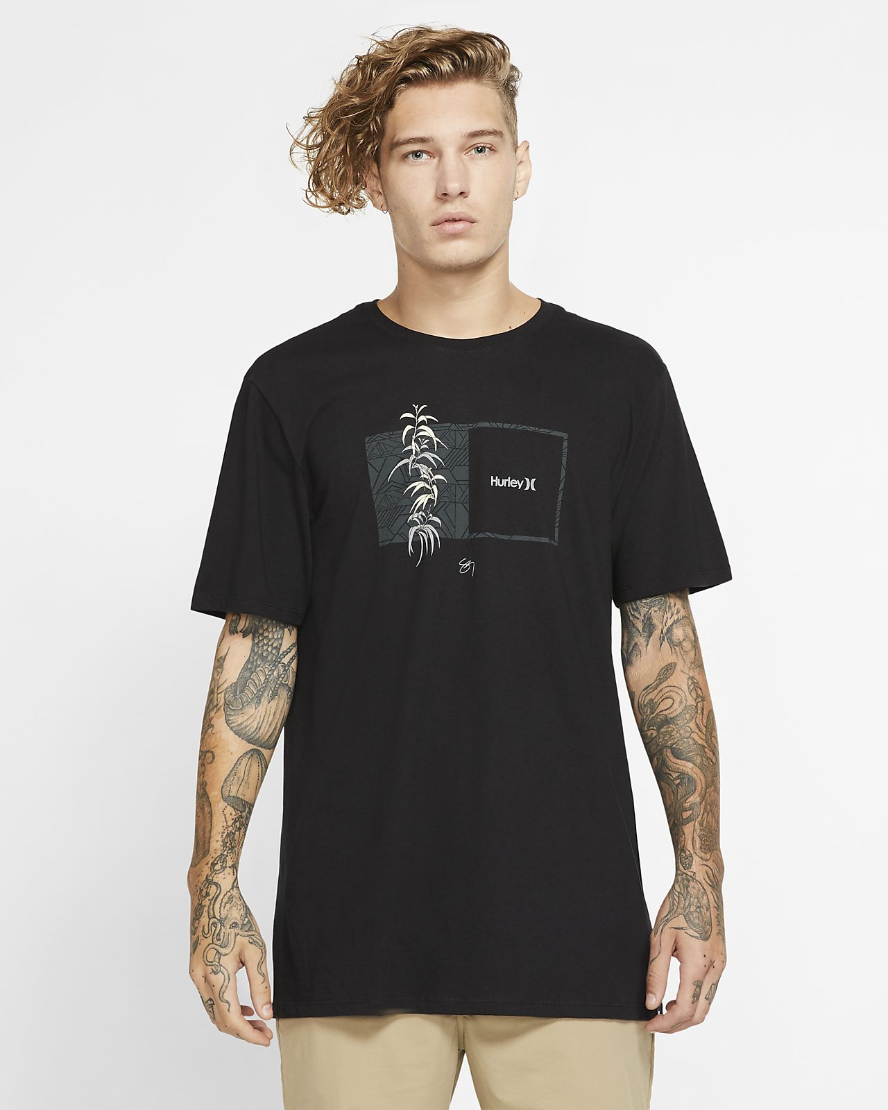 Hurley Premium Sig Zane Kalaukoa Erkek Tişörtü