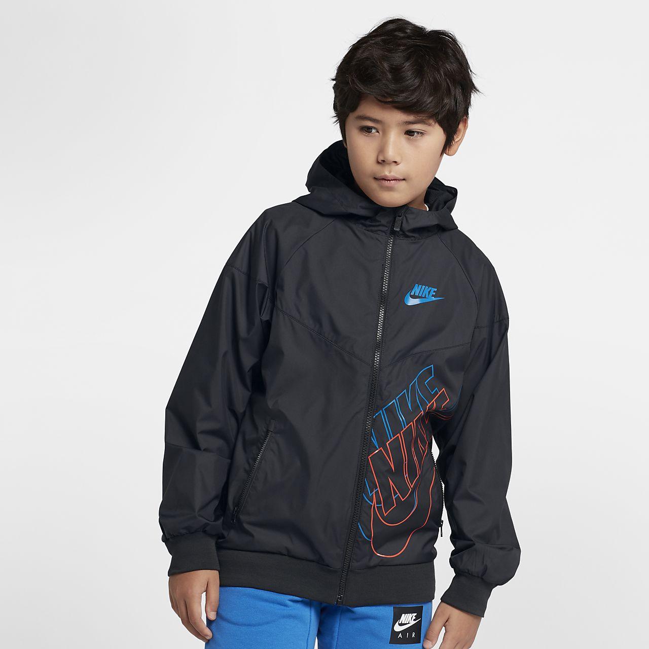 c1f1fbcee6f7 Nike Sportswear Windrunner Big Kids  (Boys ) Jacket. Nike.com