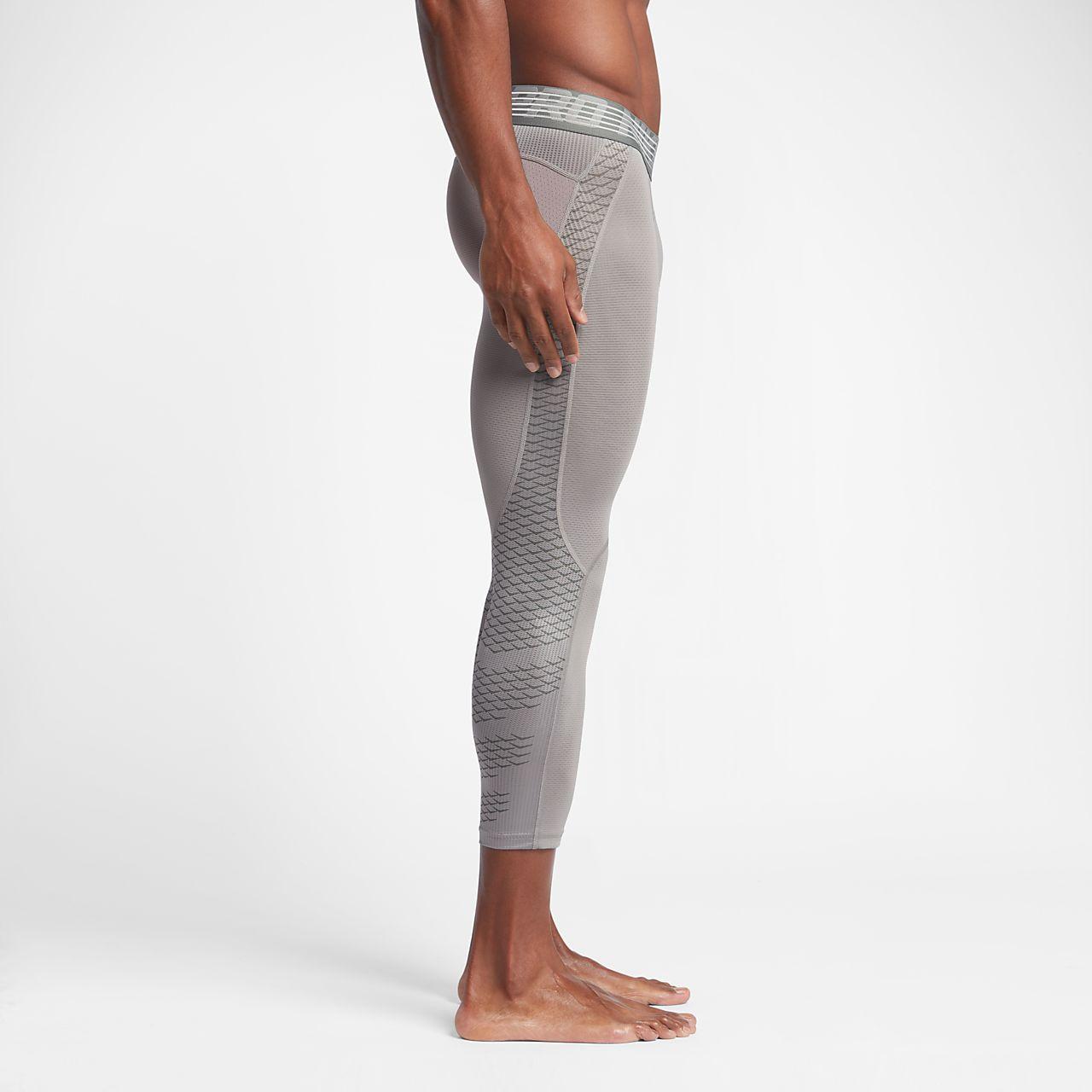 nike pro hypercool men 39 s 3 4 training tights. Black Bedroom Furniture Sets. Home Design Ideas