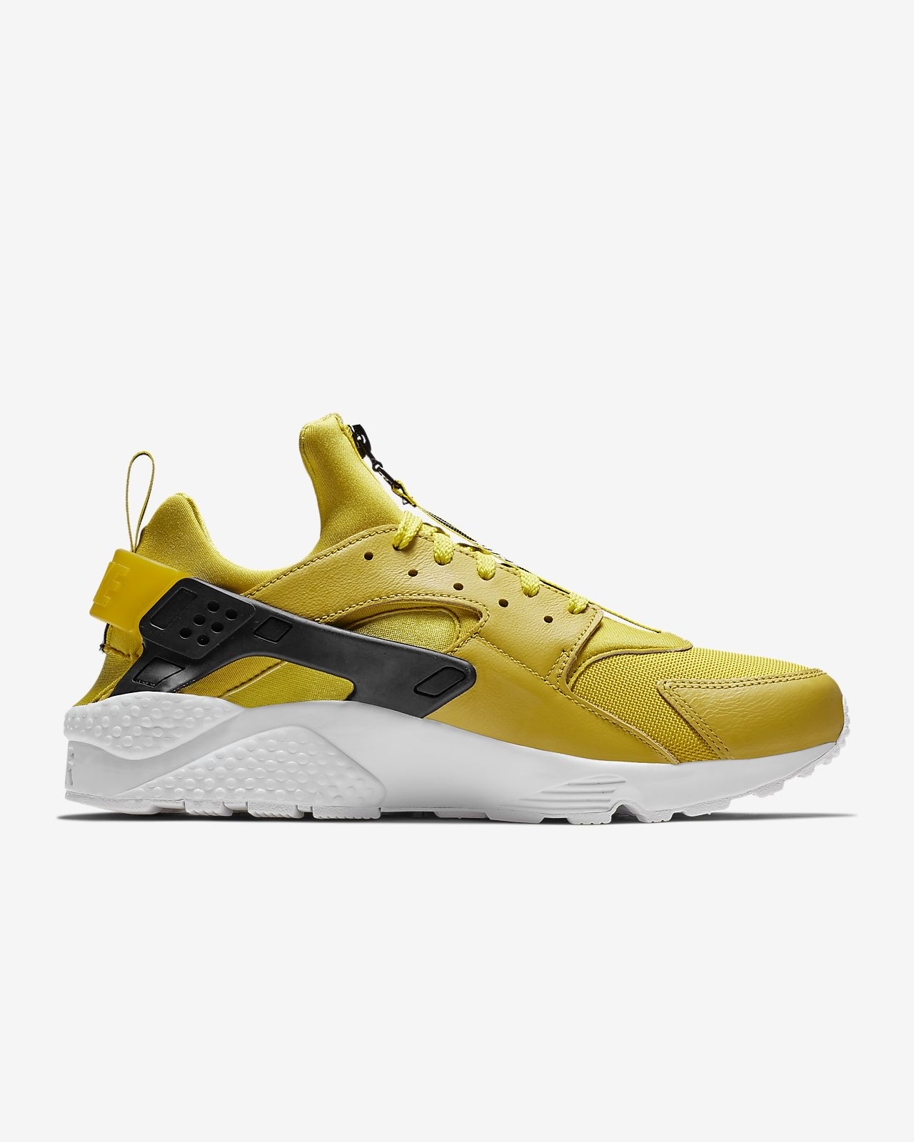 brand new 26e6a 2efea ... Nike Air Huarache Run Premium Zip Men s Shoe