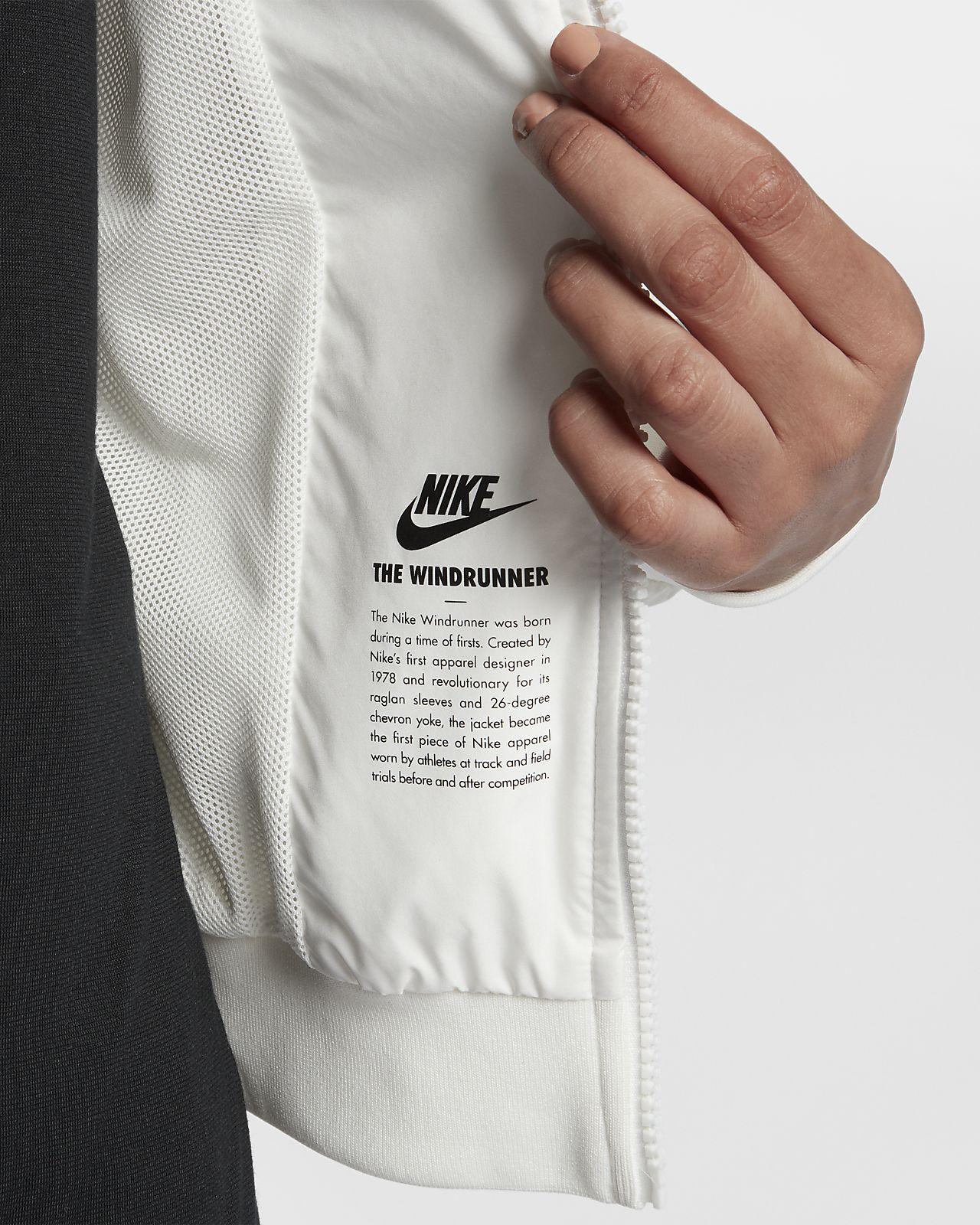 Nike windrunner women's jacket small