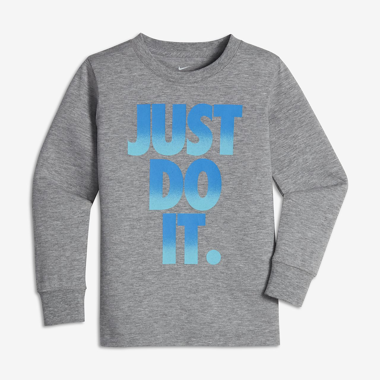 Nike Just Do It Pop Mezzo Little Kids' (Boys') Long Sleeve T-Shirt ...