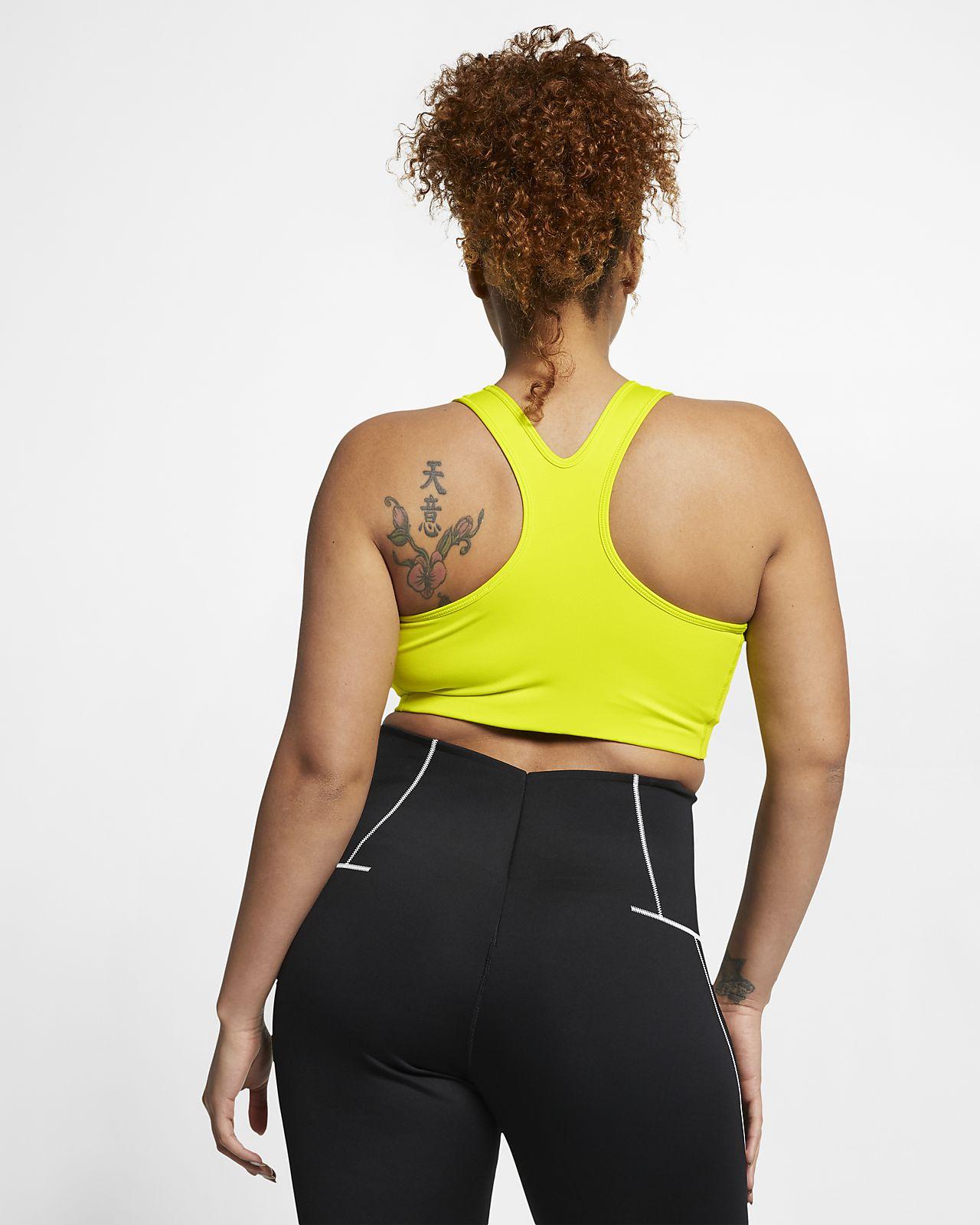 bfb652e2ce035 Nike Women's Swoosh Medium-Support Sports Bra (Plus Size). Nike.com