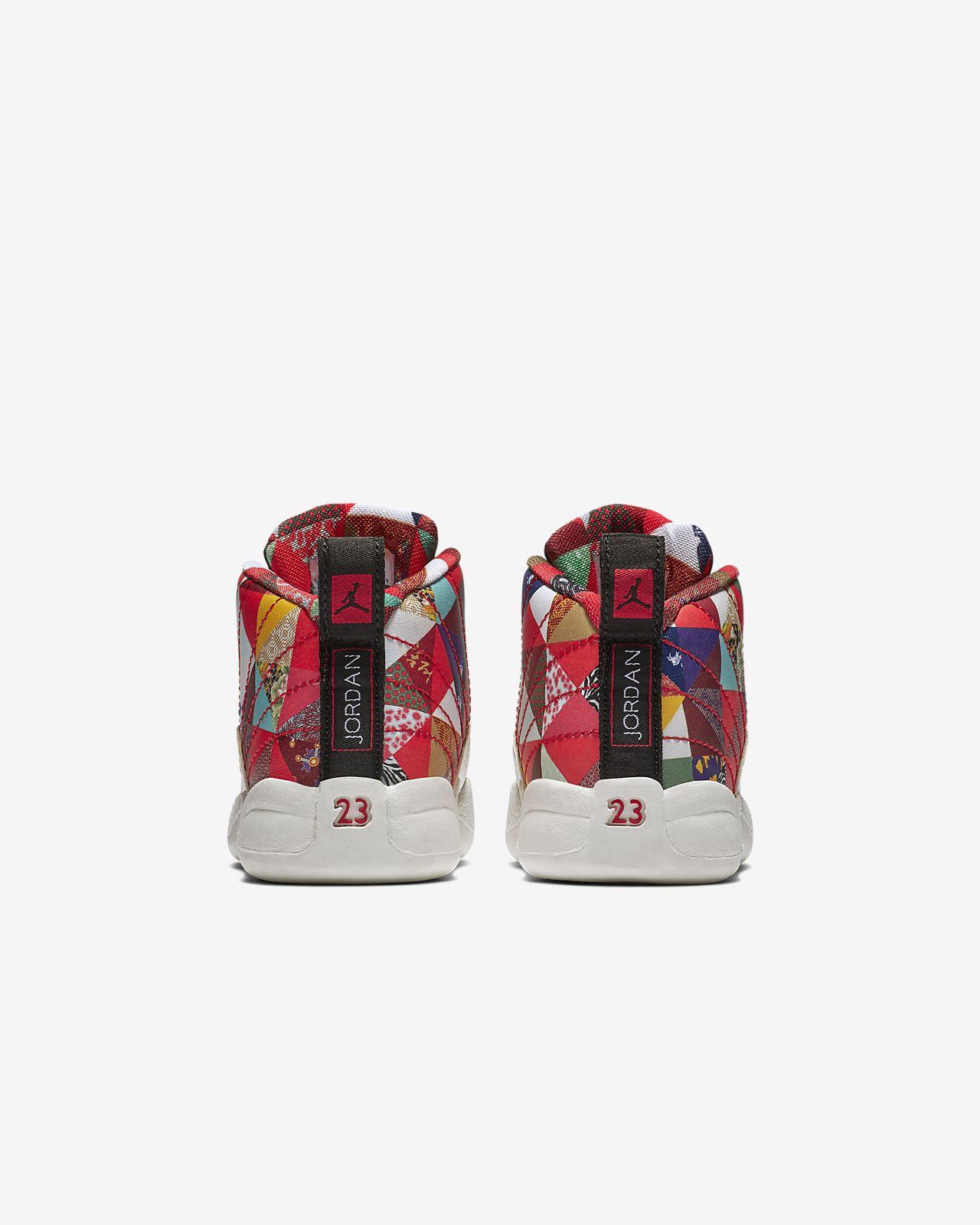 23c6f3d5d475 Air Jordan 12 Retro CNY Baby Toddler Shoe. Nike.com