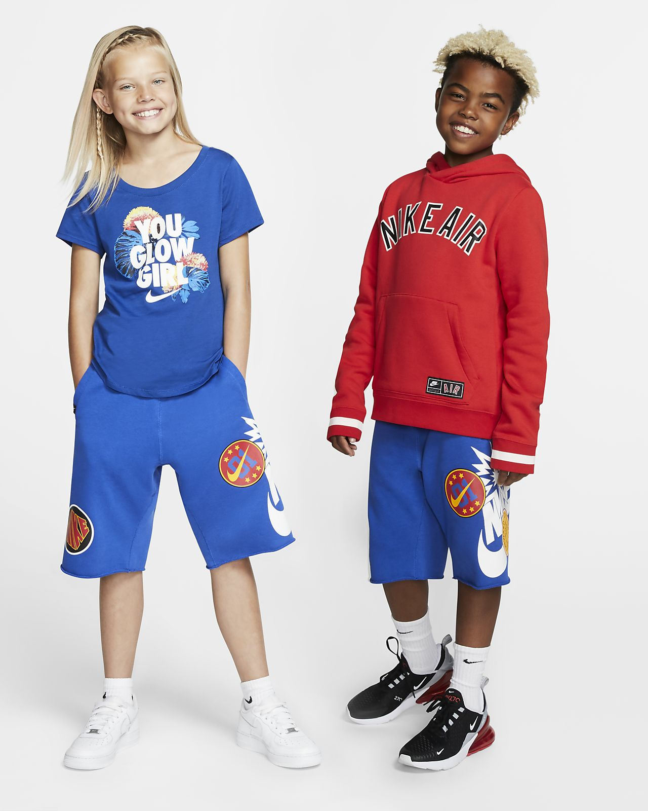 Nike Sportswear Alumni DNA Big Kids' Shorts