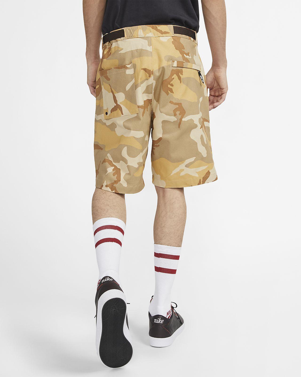 a2d2f6f5b6 Nike SB Men's Camo Skate Shorts. Nike.com GB
