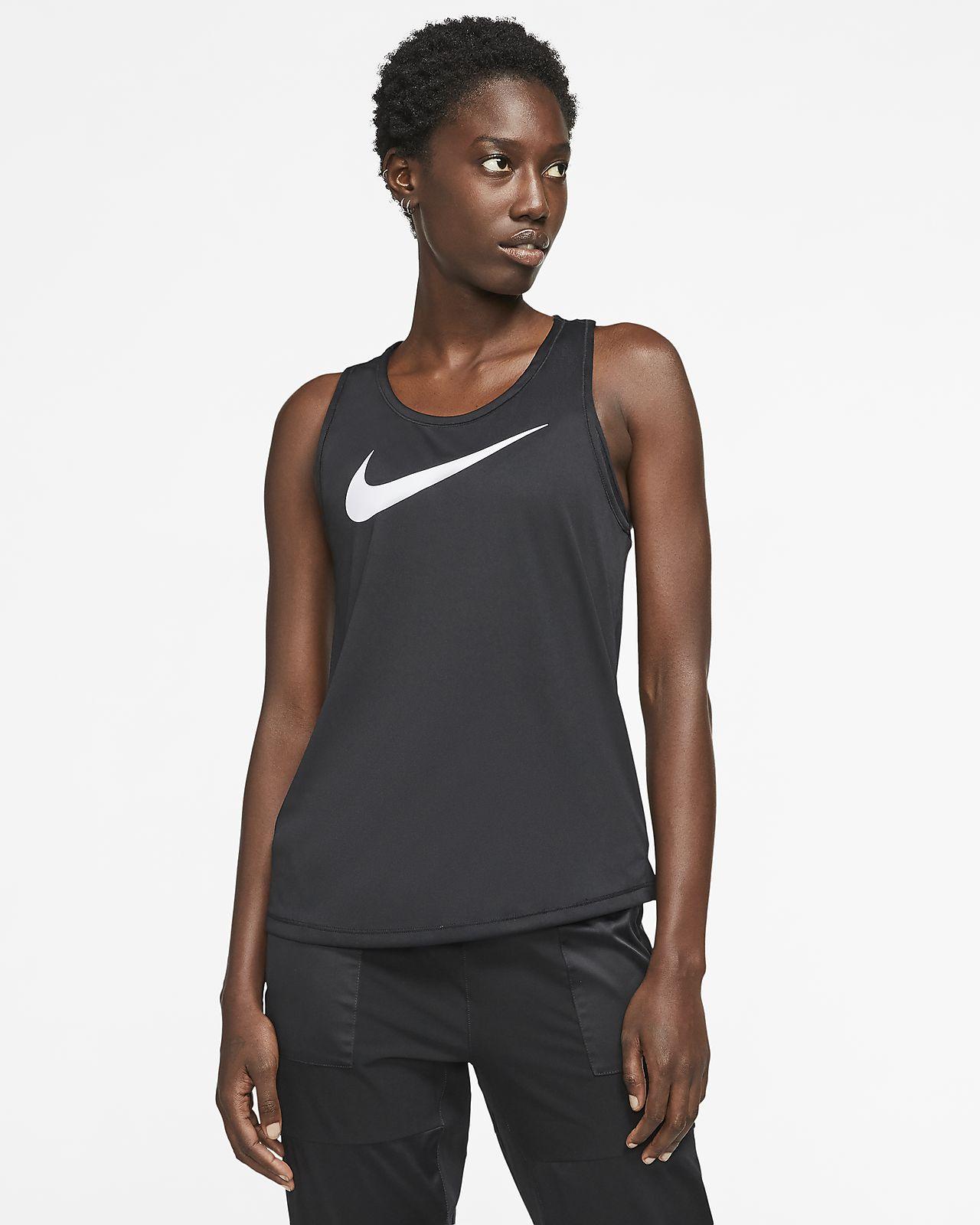 Canotta da running Nike Swoosh Donna