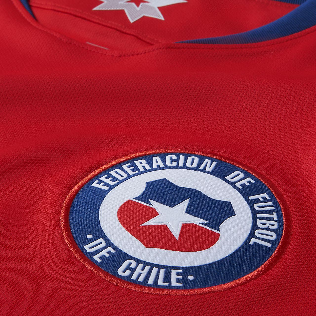 818312d405aab Camiseta de fútbol para hombre 2018 Chile Stadium Home. Nike.com CL