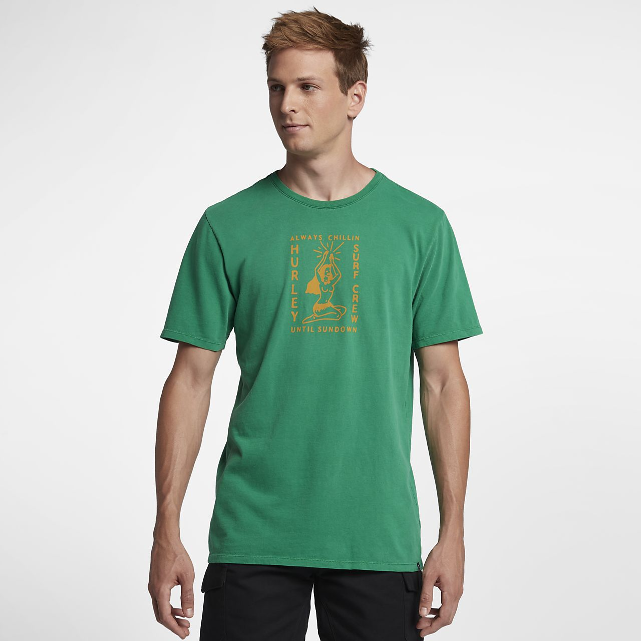 Hurley Heavy Sundown Summer Men's T-Shirt