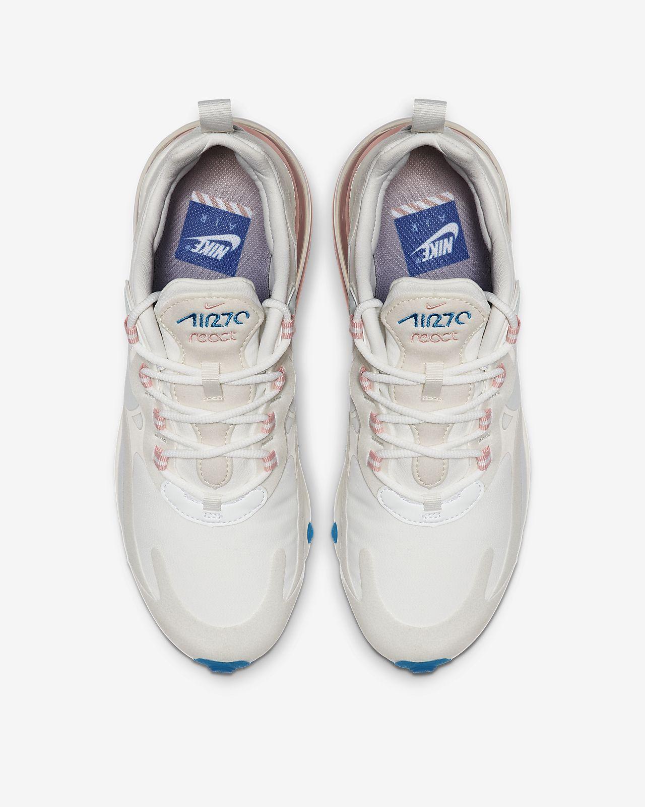 2c59453a1273 Chaussure Nike Air Max 270 React (American Modern) pour Femme. Nike ...